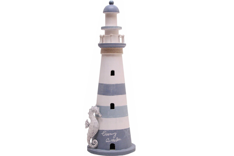 54cm Wood Lighthouse