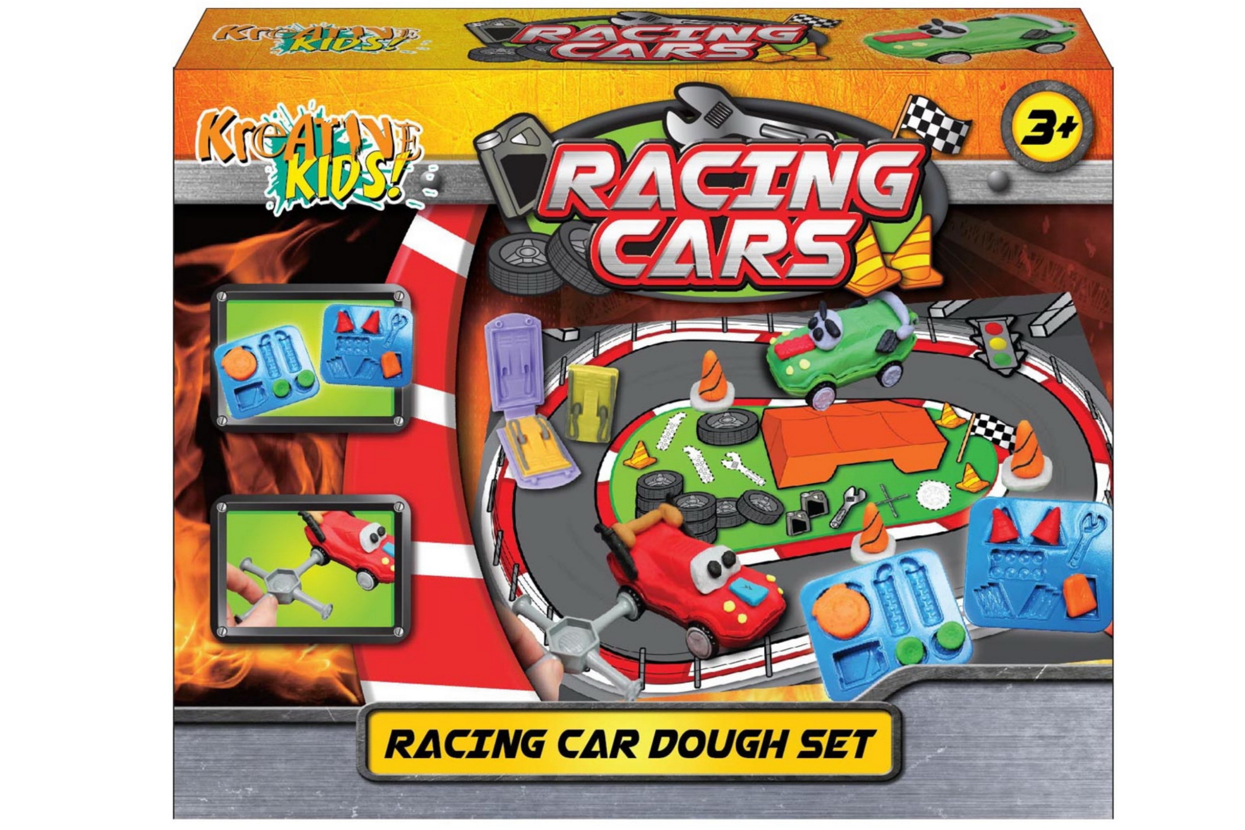 Racing Car Dough Set In Colour Box