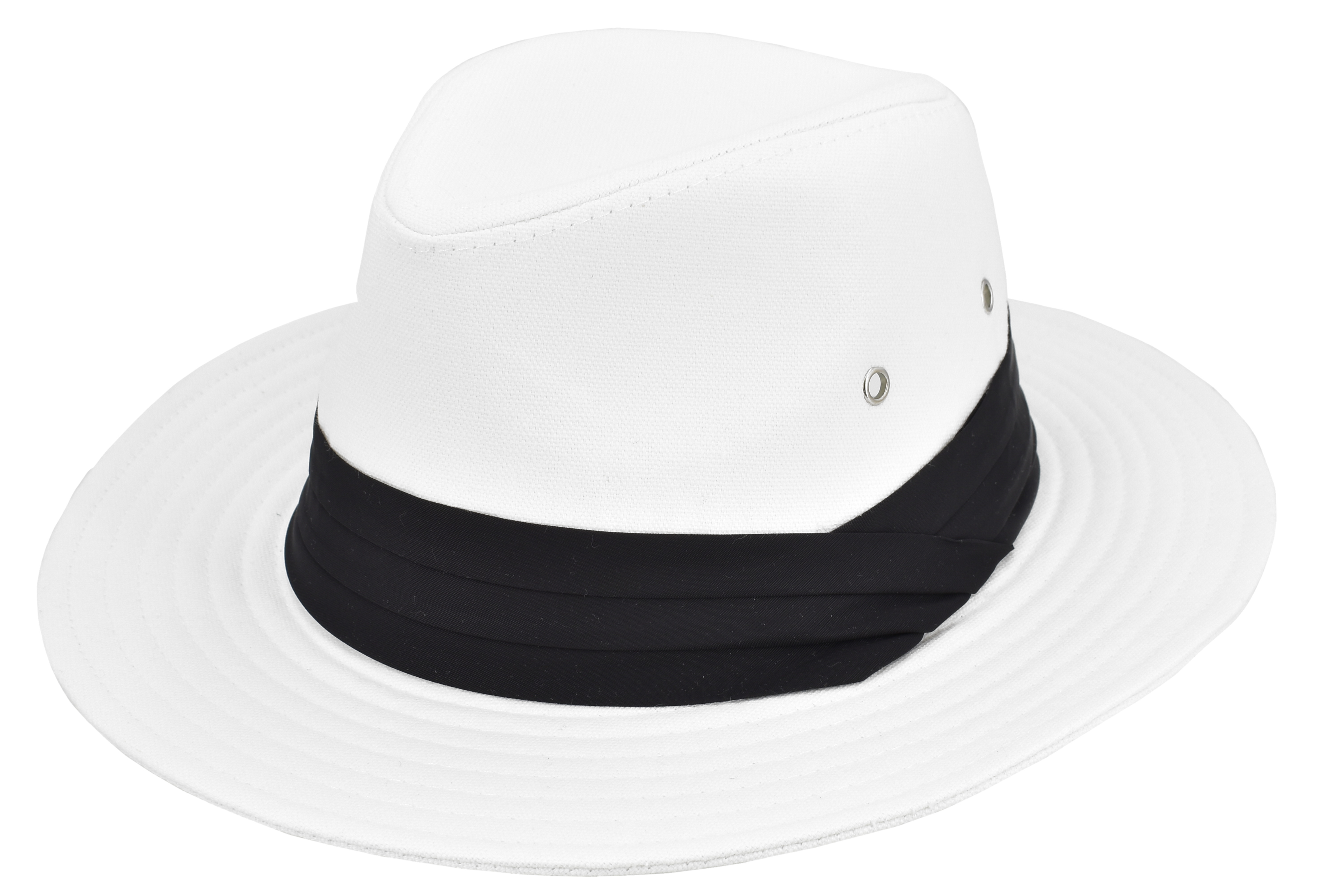 Canvas Cotton Panama Hat - 2 Assorted