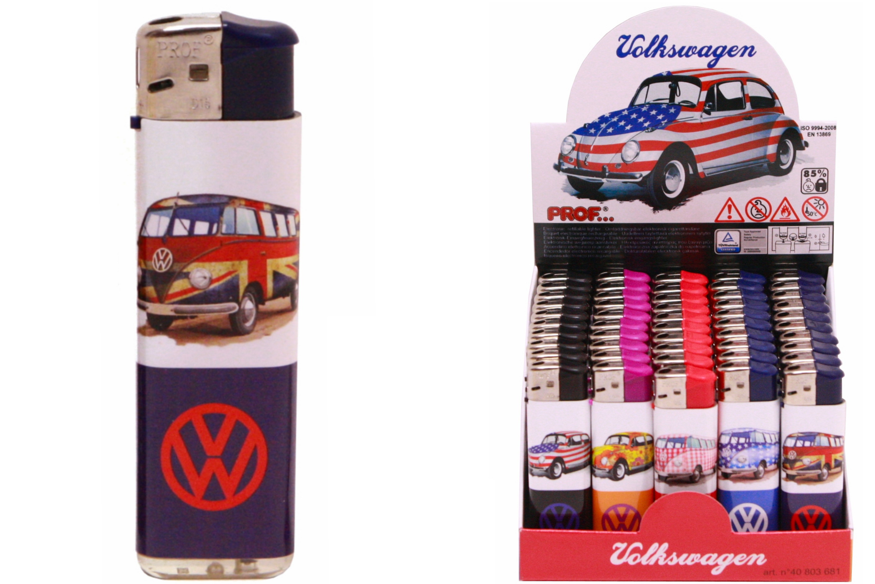 Volkswagen Design Lighter 5 Assorted