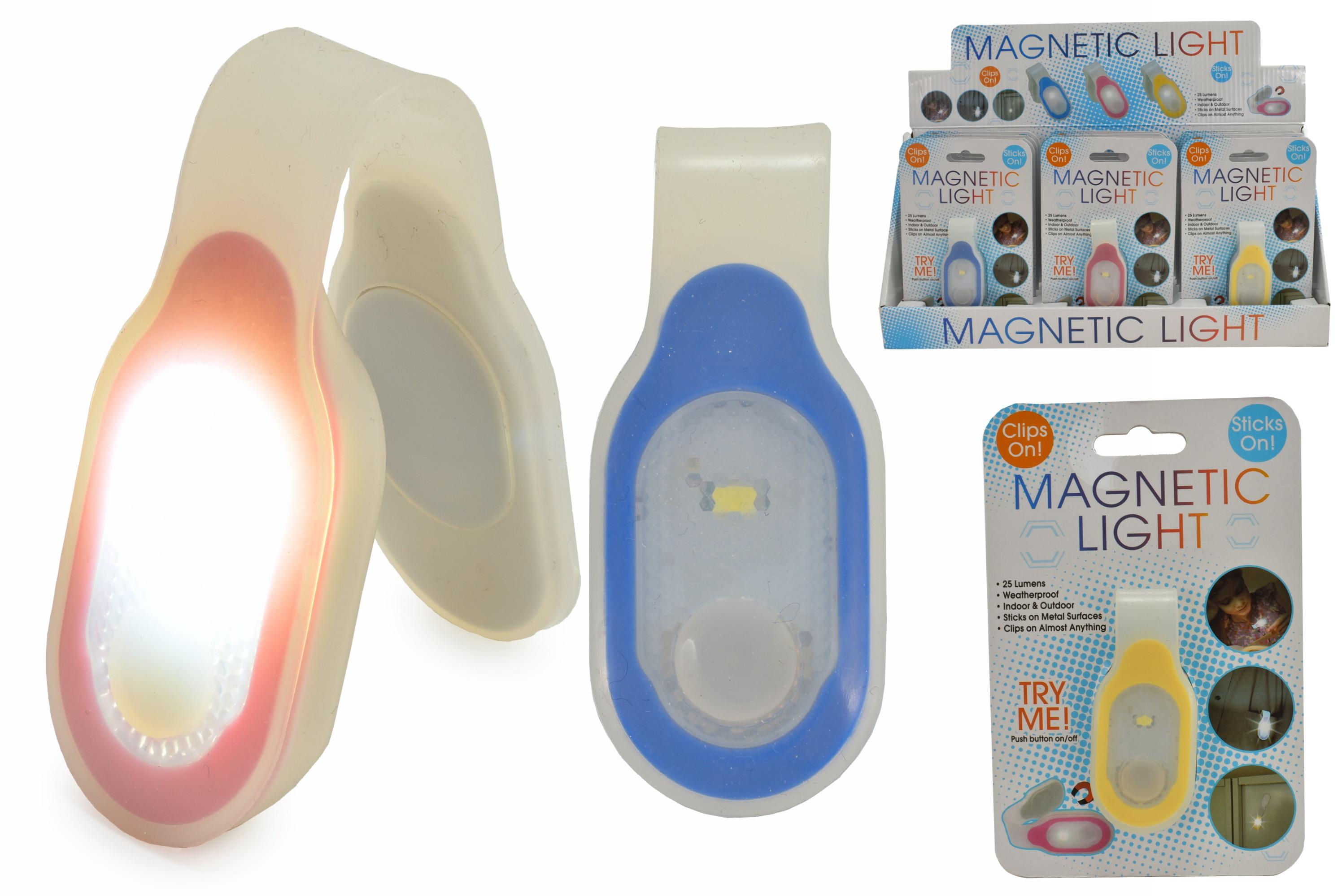 Magnetic Light On Blistercard / Display Box