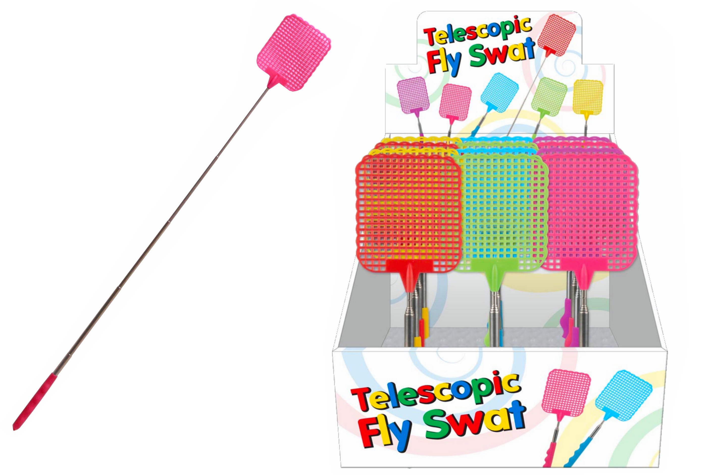 Telescopic Fly Swat In Display Box