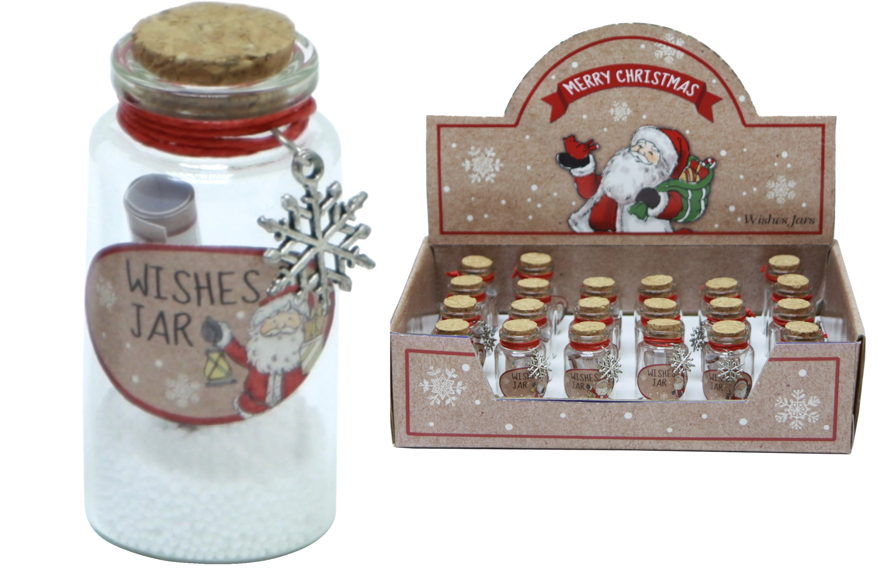 Merry Christmas Small Wishing Jar In Display Box