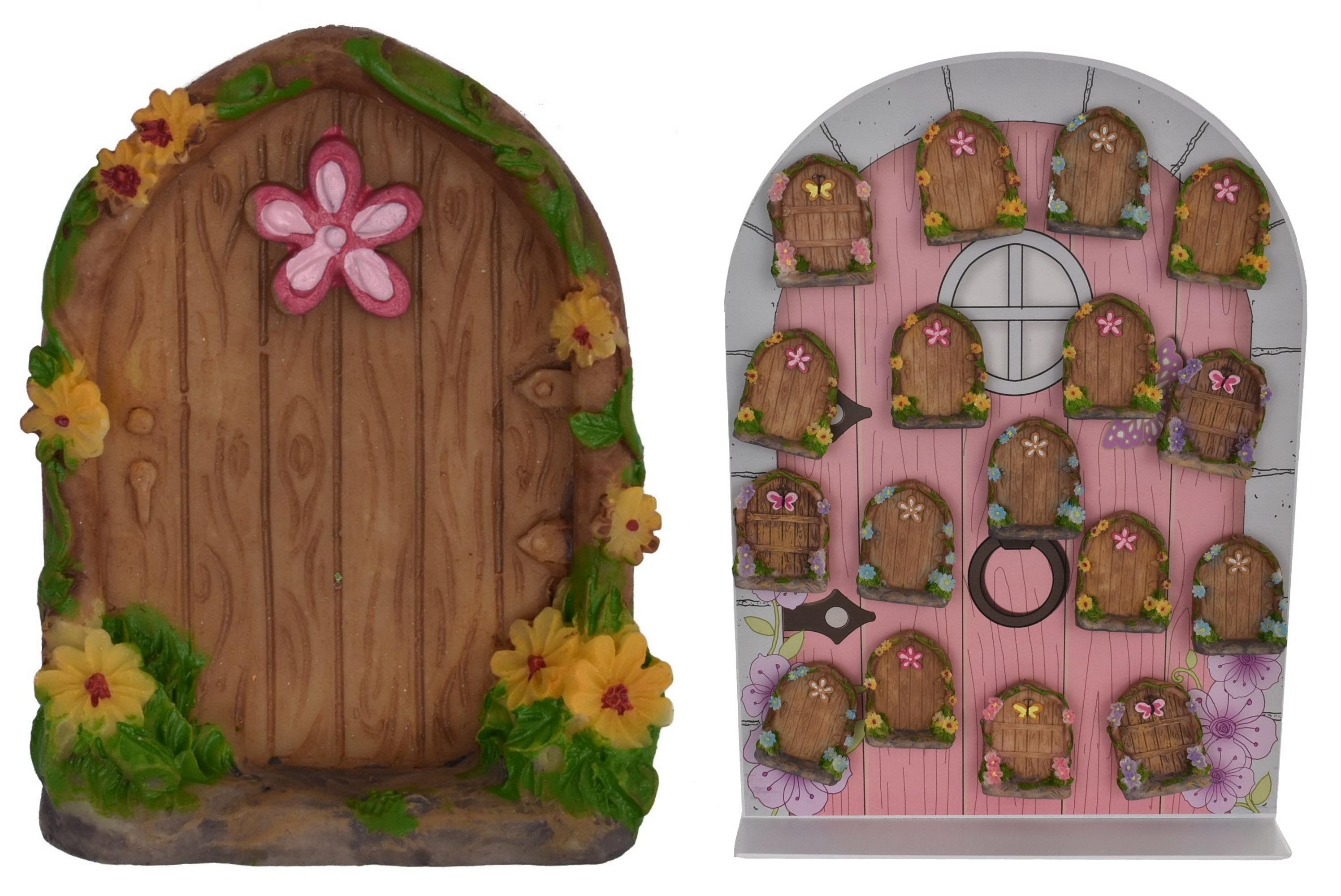 Fairy Door Magnet On Metal Display Stand