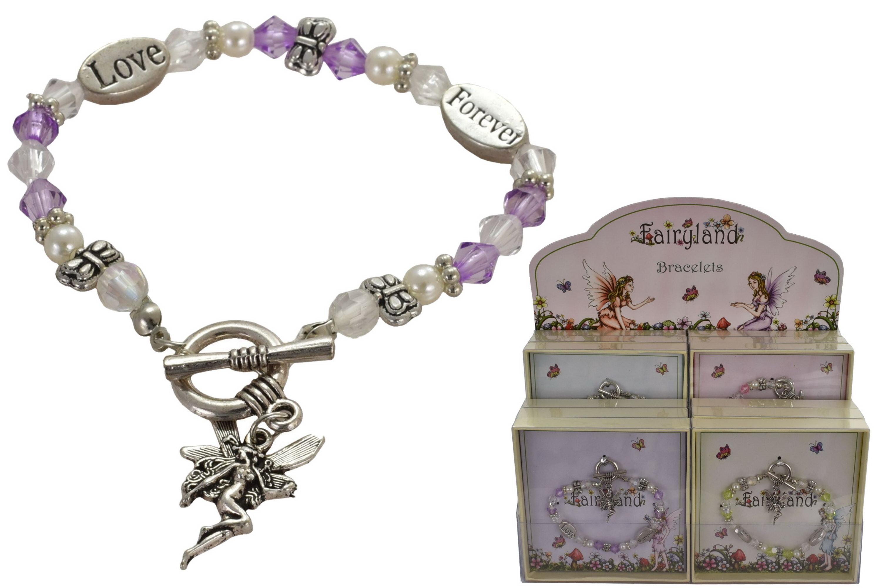 "Fairy Bracelet Assorted In Acetate Box ""Fairyland"""
