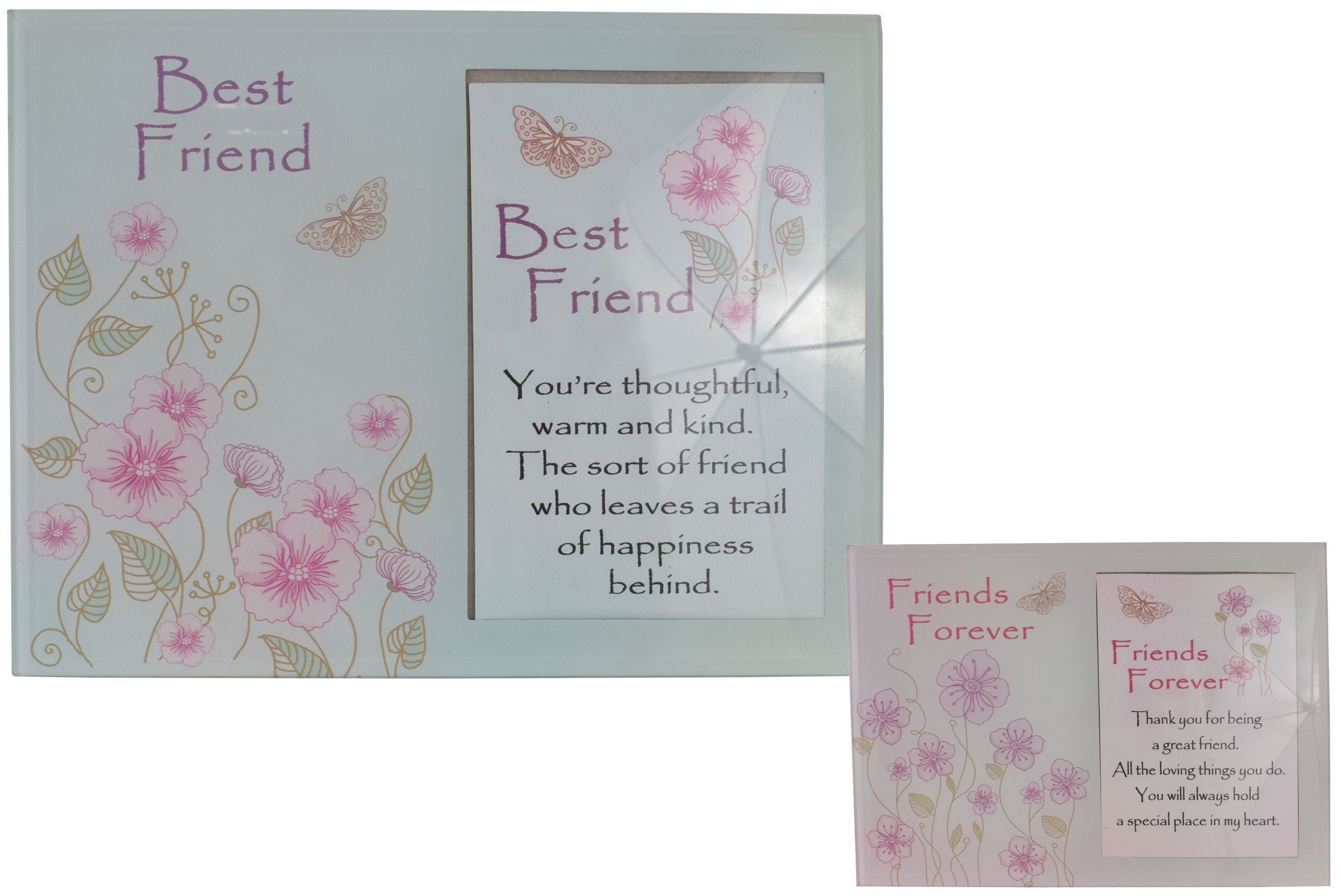 Friends Glass Picture Frame 17cm x 22cm 2 Assorted