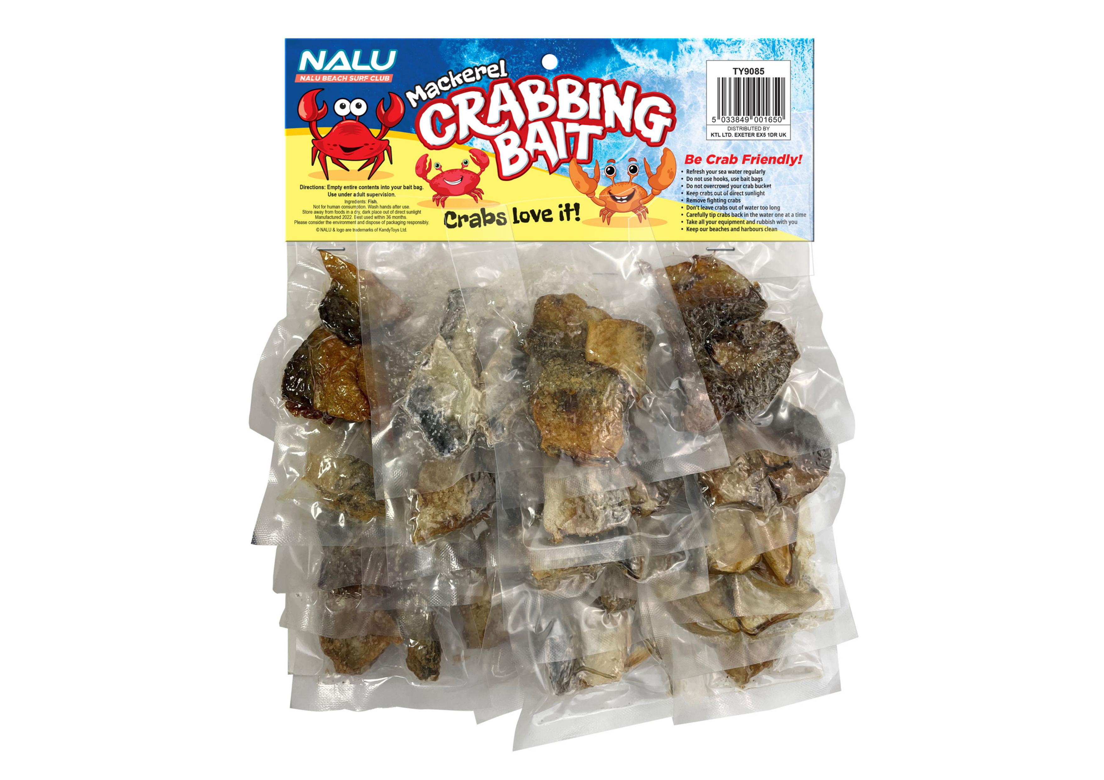 Mackerel Crabbing Bait (25pc On Hang Card)