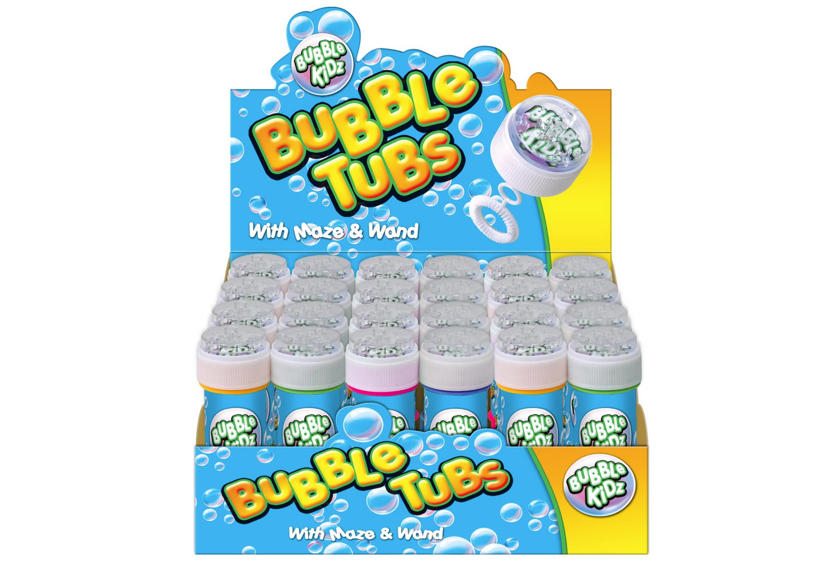 60ml Bubble Tub With Maze Lid & Wand In Display Box | Products ...
