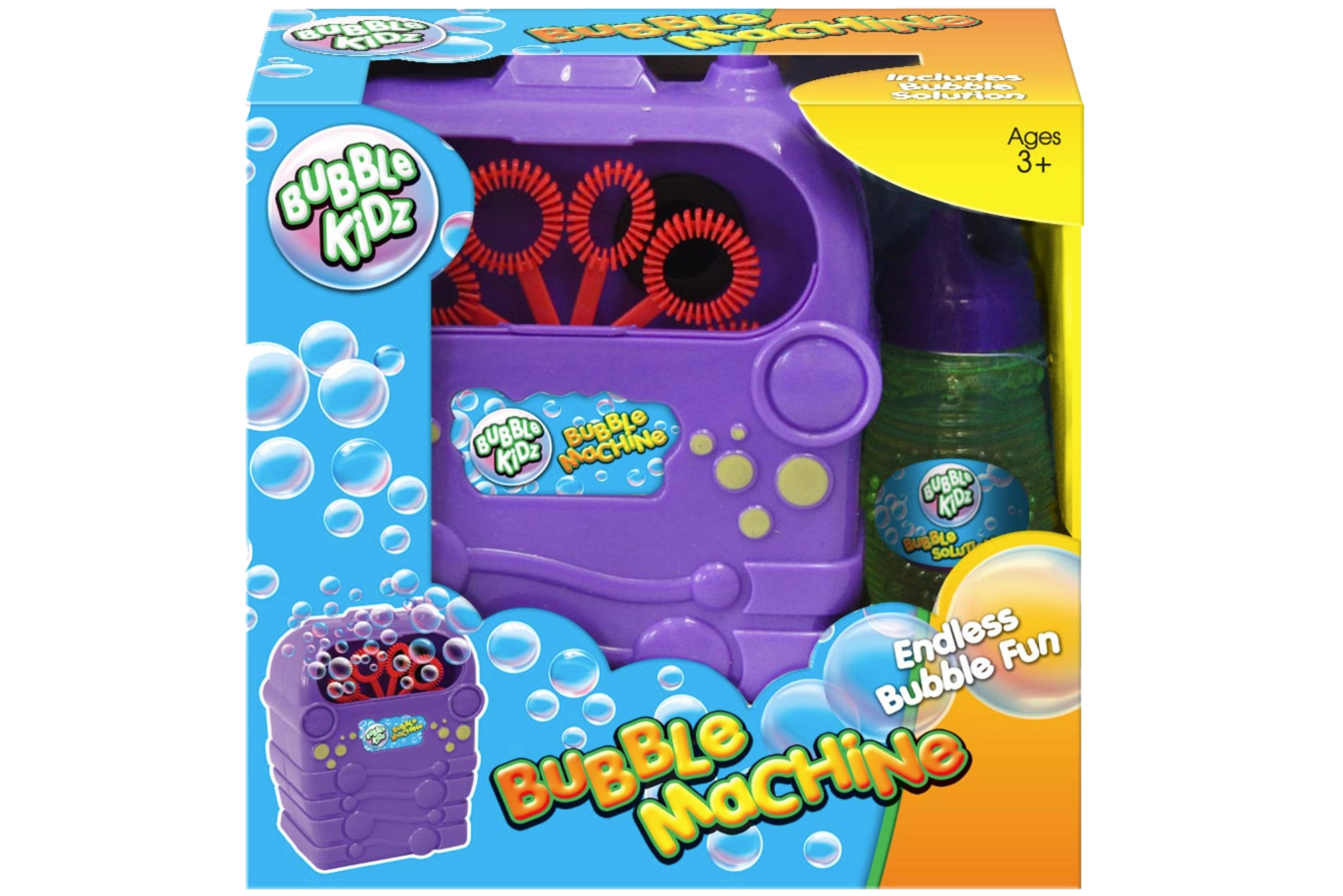 B/O Bubble Machine In Open Touch Box