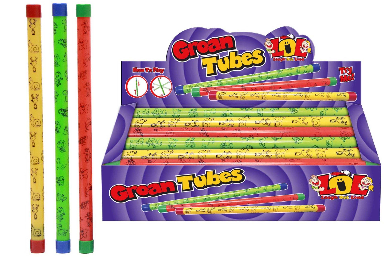 Printed Groan Tubes 3 Assorted In Display Box