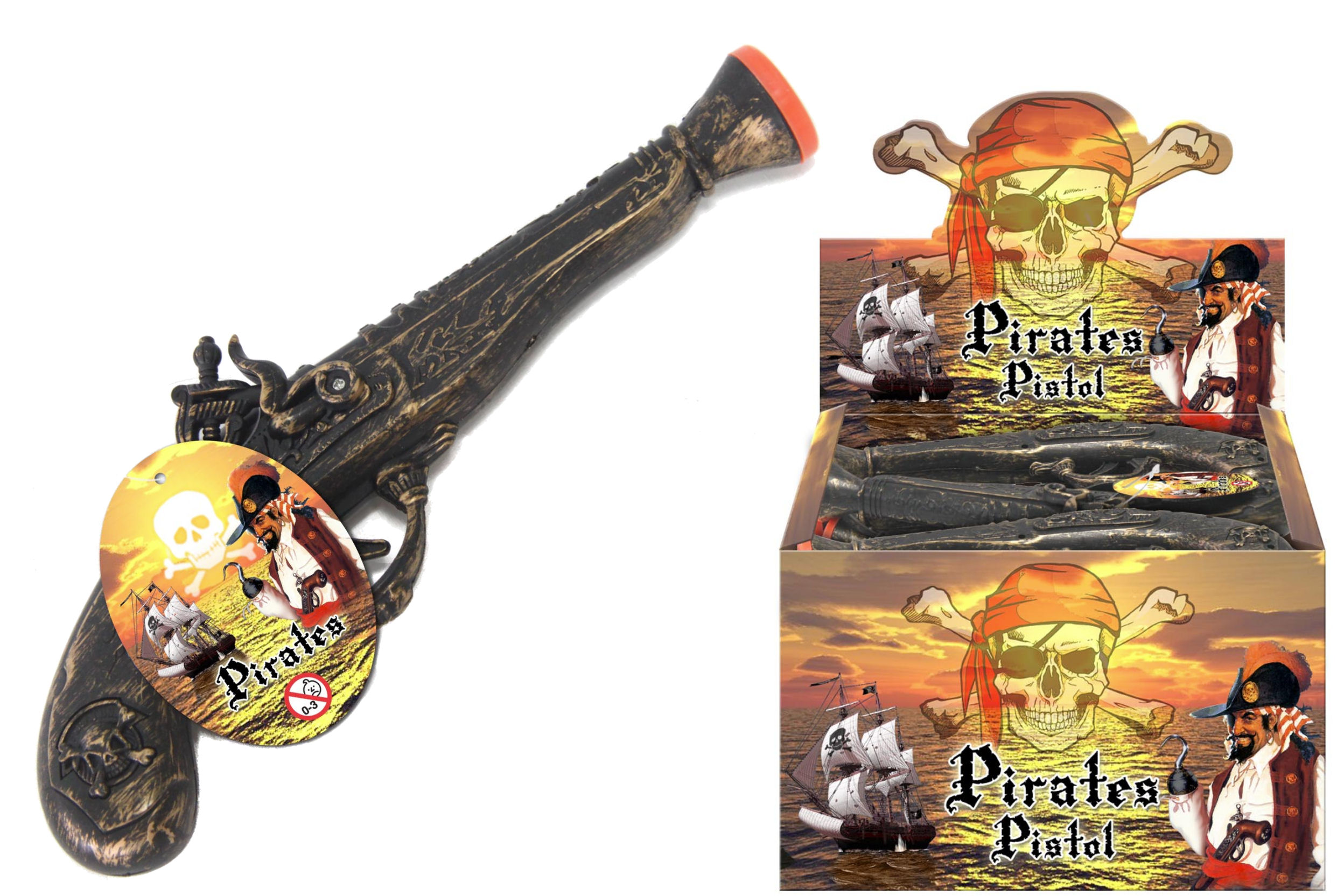Pirate Pistol In Display Box