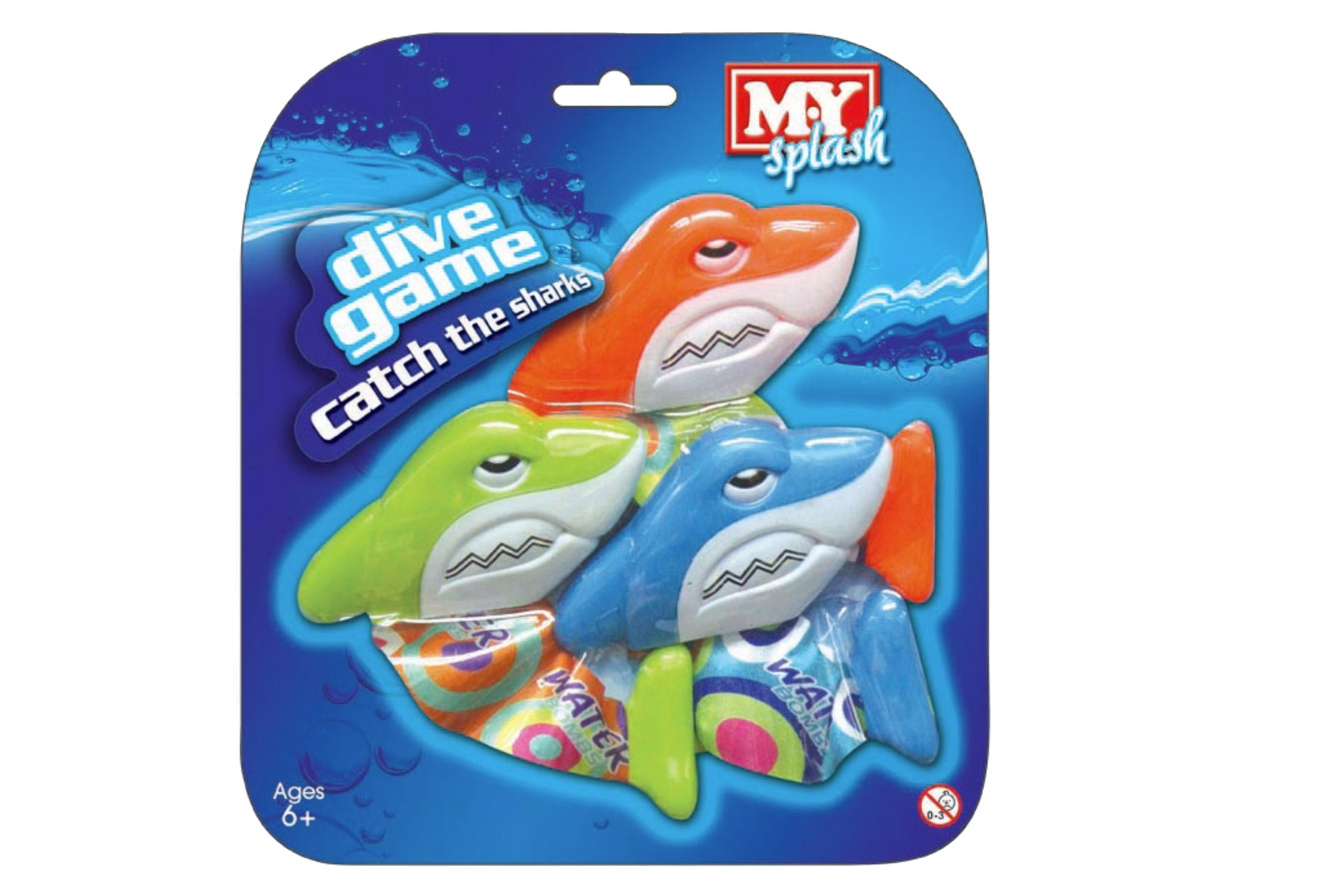 Catch The Sharks Dive Game On Blistercard