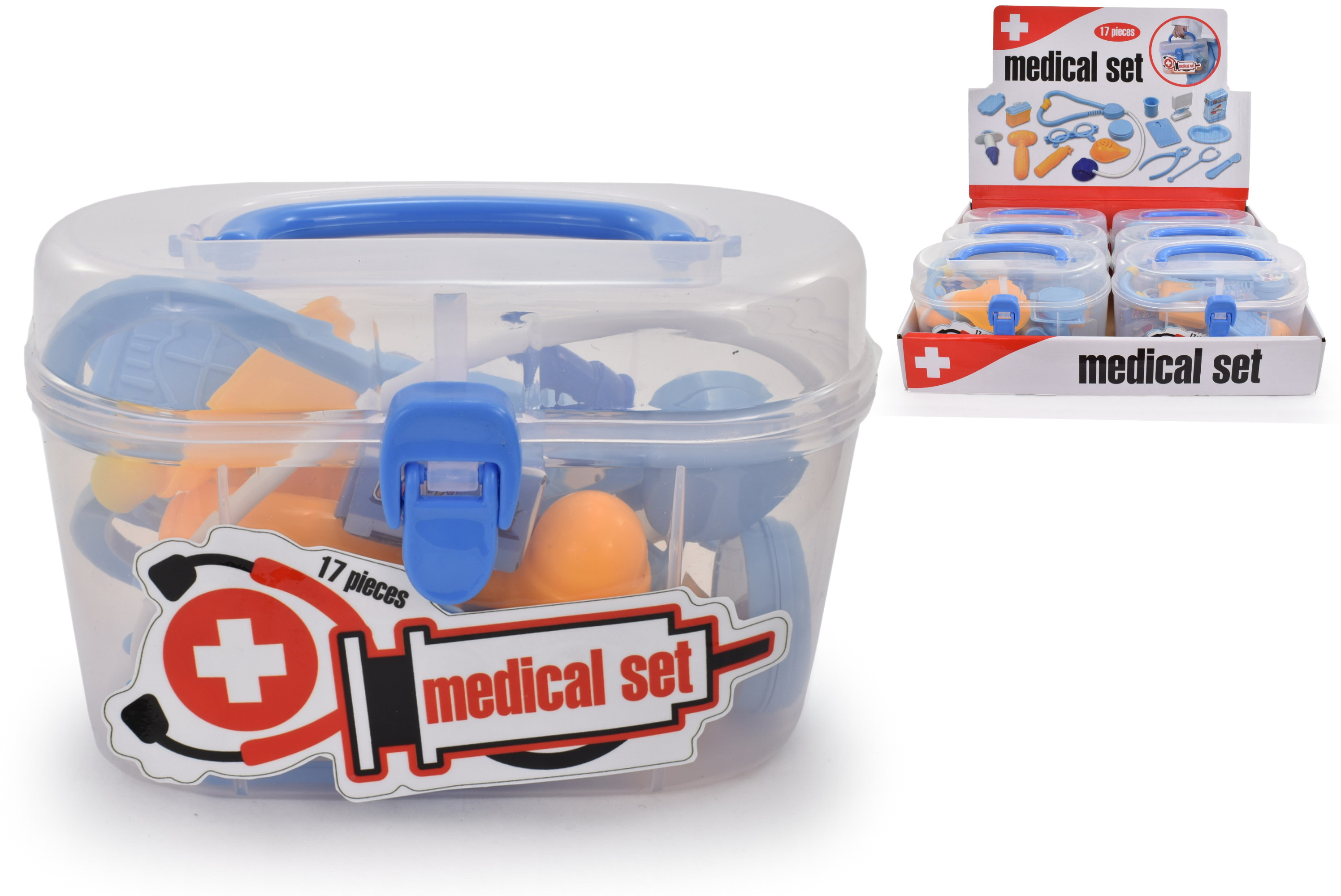 Doctors Playset In Carry Case In Display Box