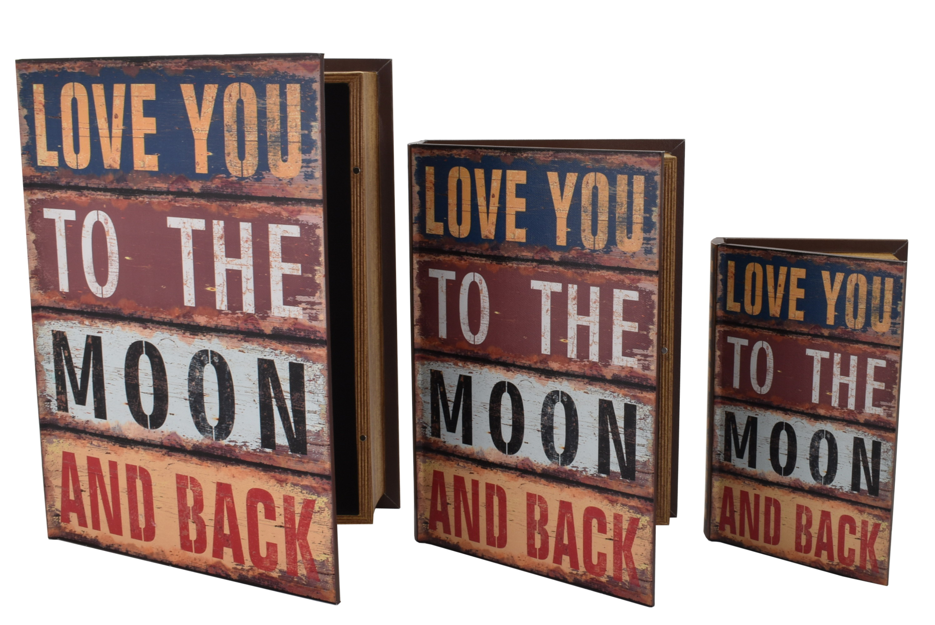 3 In 1 Storage Box Love You To The Moon & Back