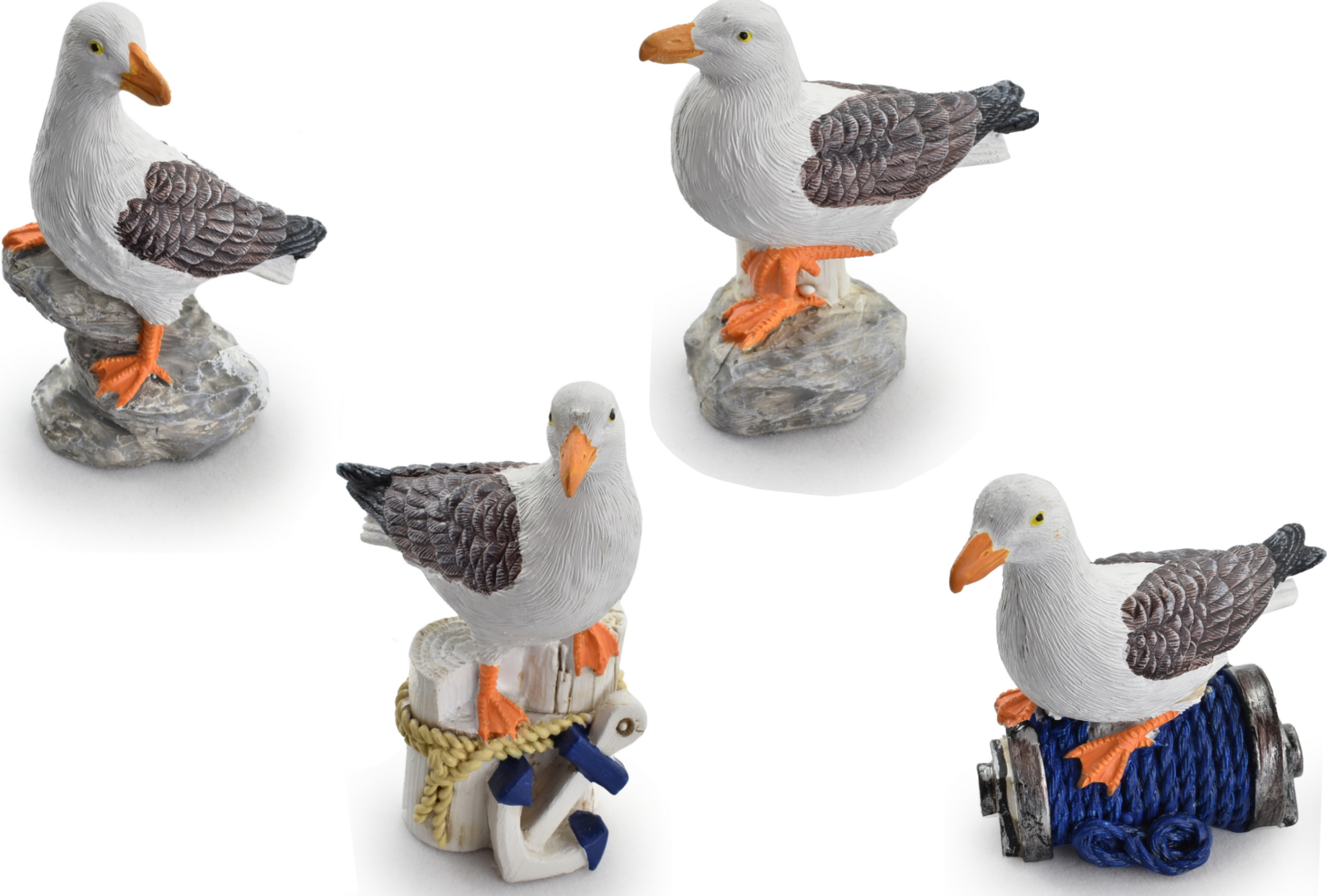 7cm Resin Seagull 4 Assorted Designs