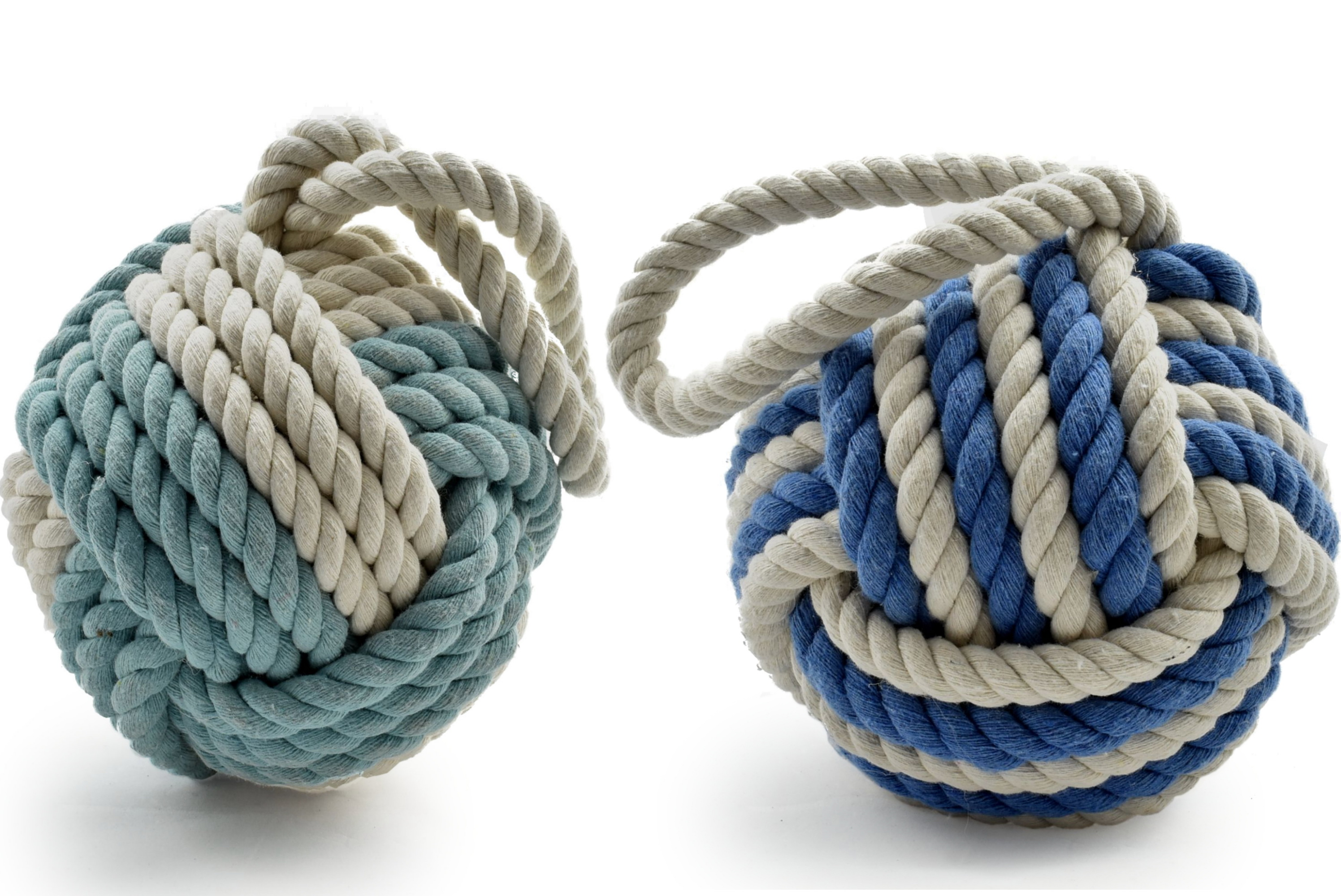16cm 2 Tone Rope Door Stop 2 Assorted