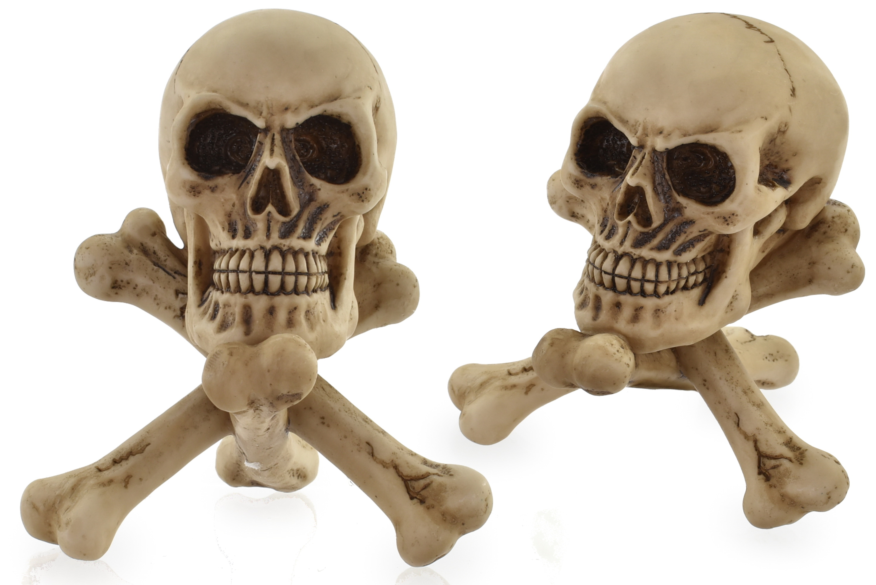 10cm Skull On Cross Bones