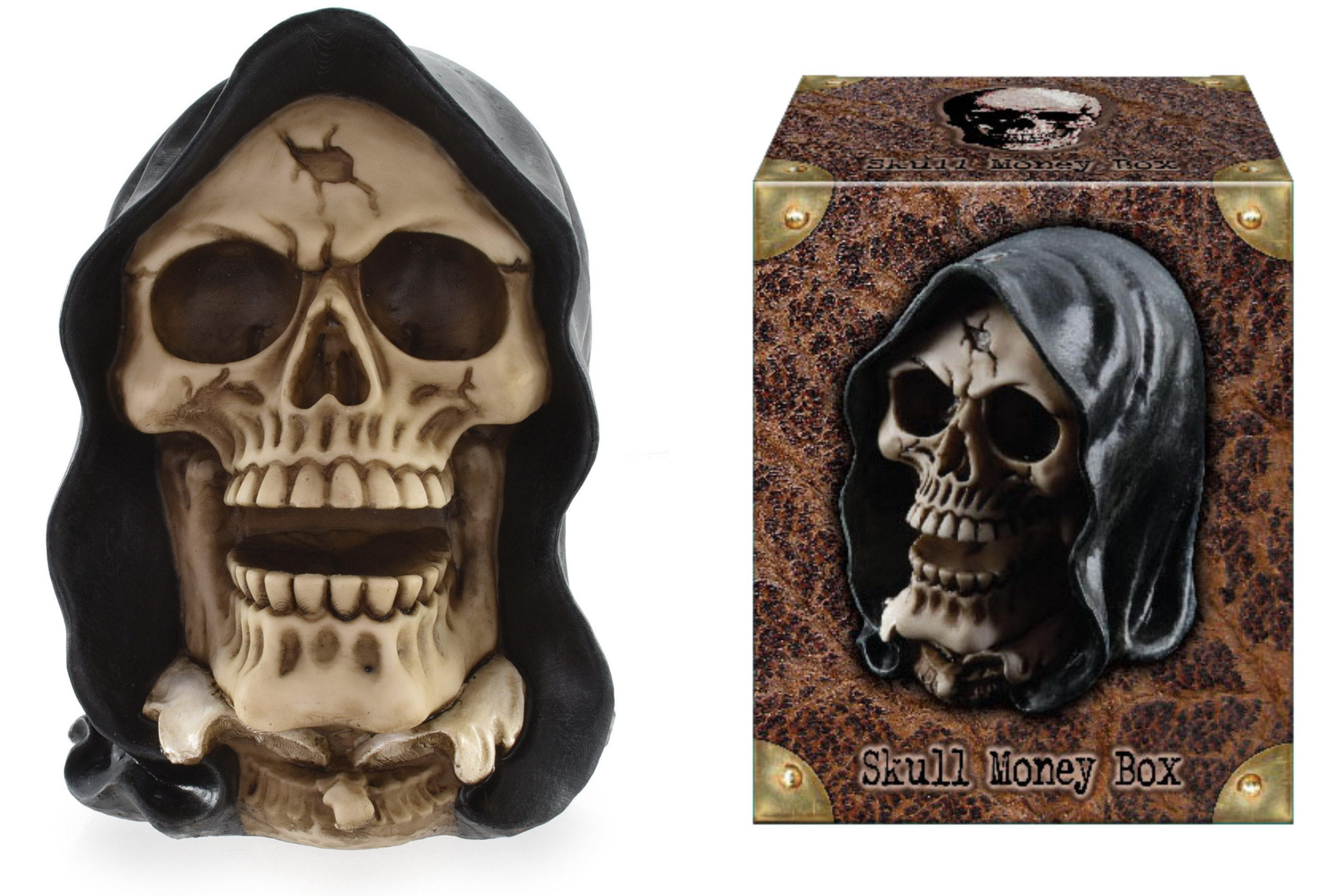 Death Skull Money Box