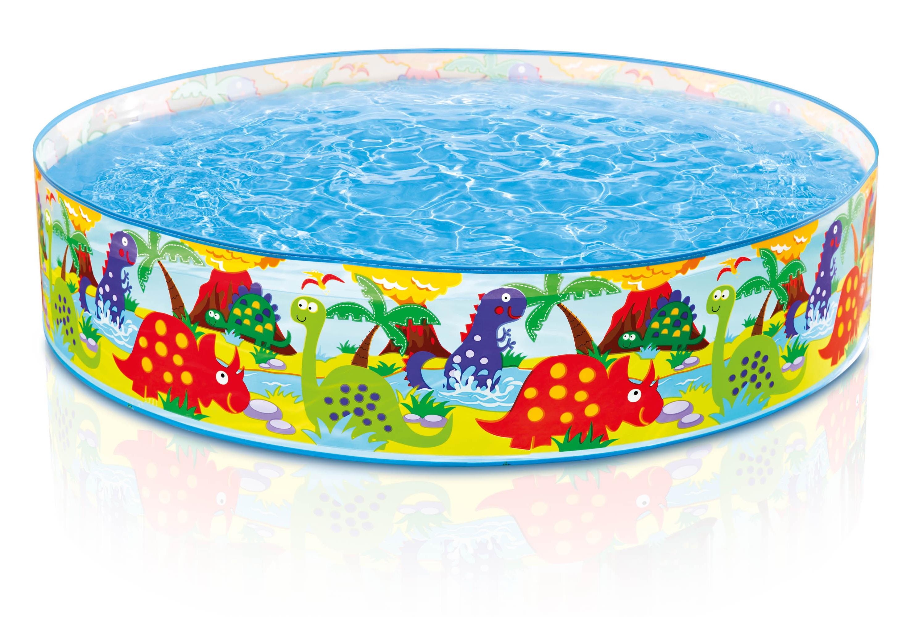 "Dino Snapset Pool - Np - 4' x 10"""