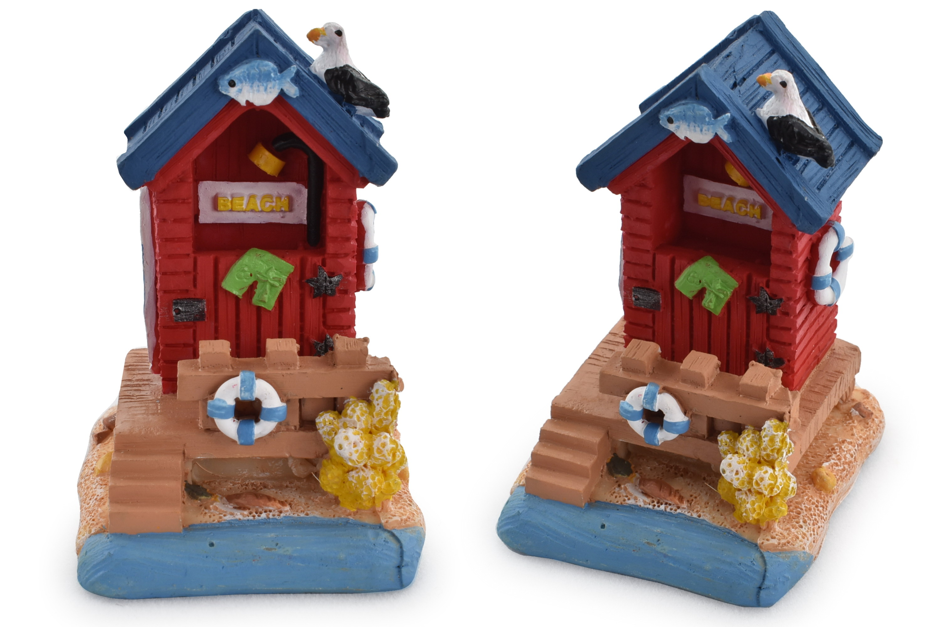 Mini Beach Hut Ornament