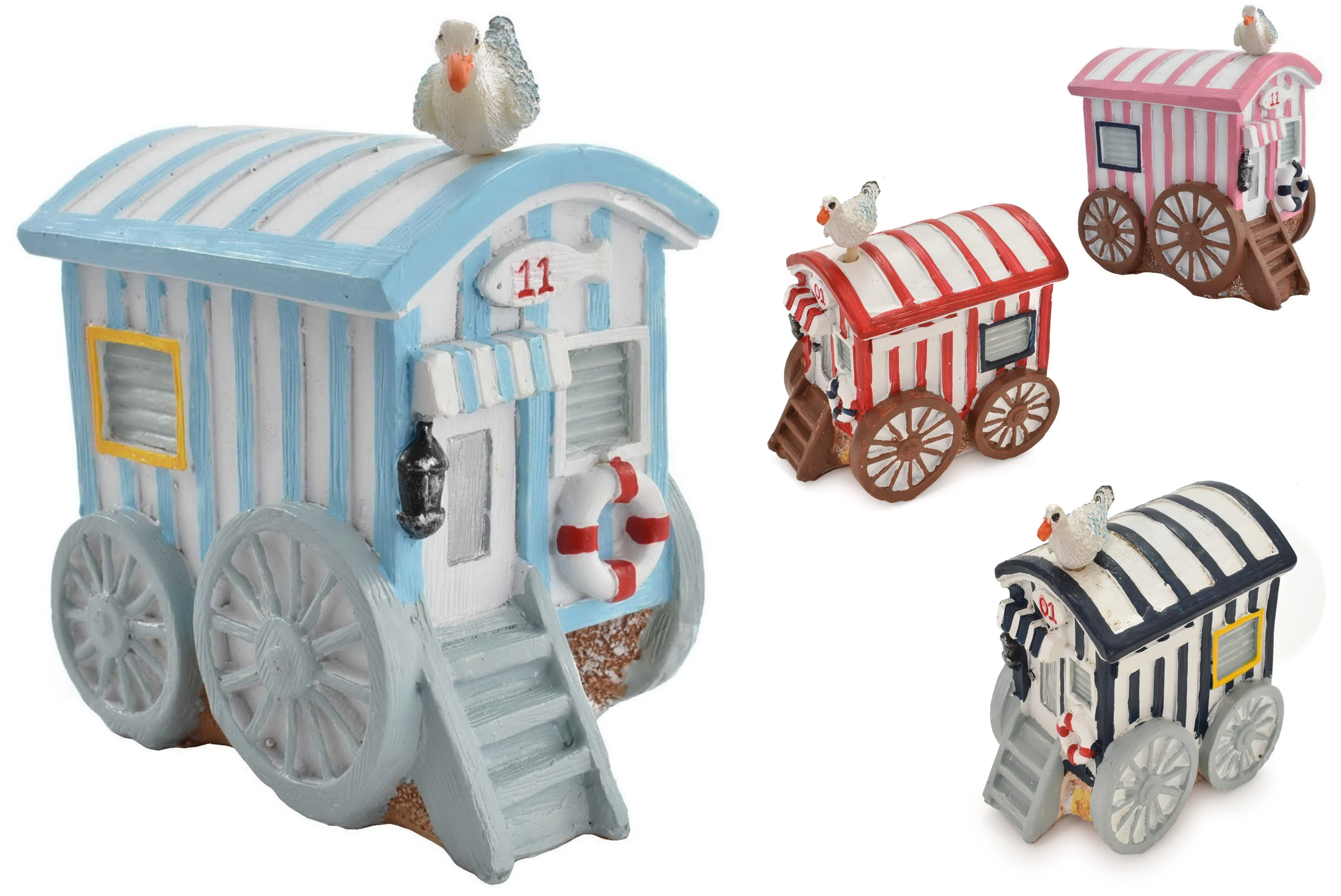 Beach House Wagon 4 Assorted Colours