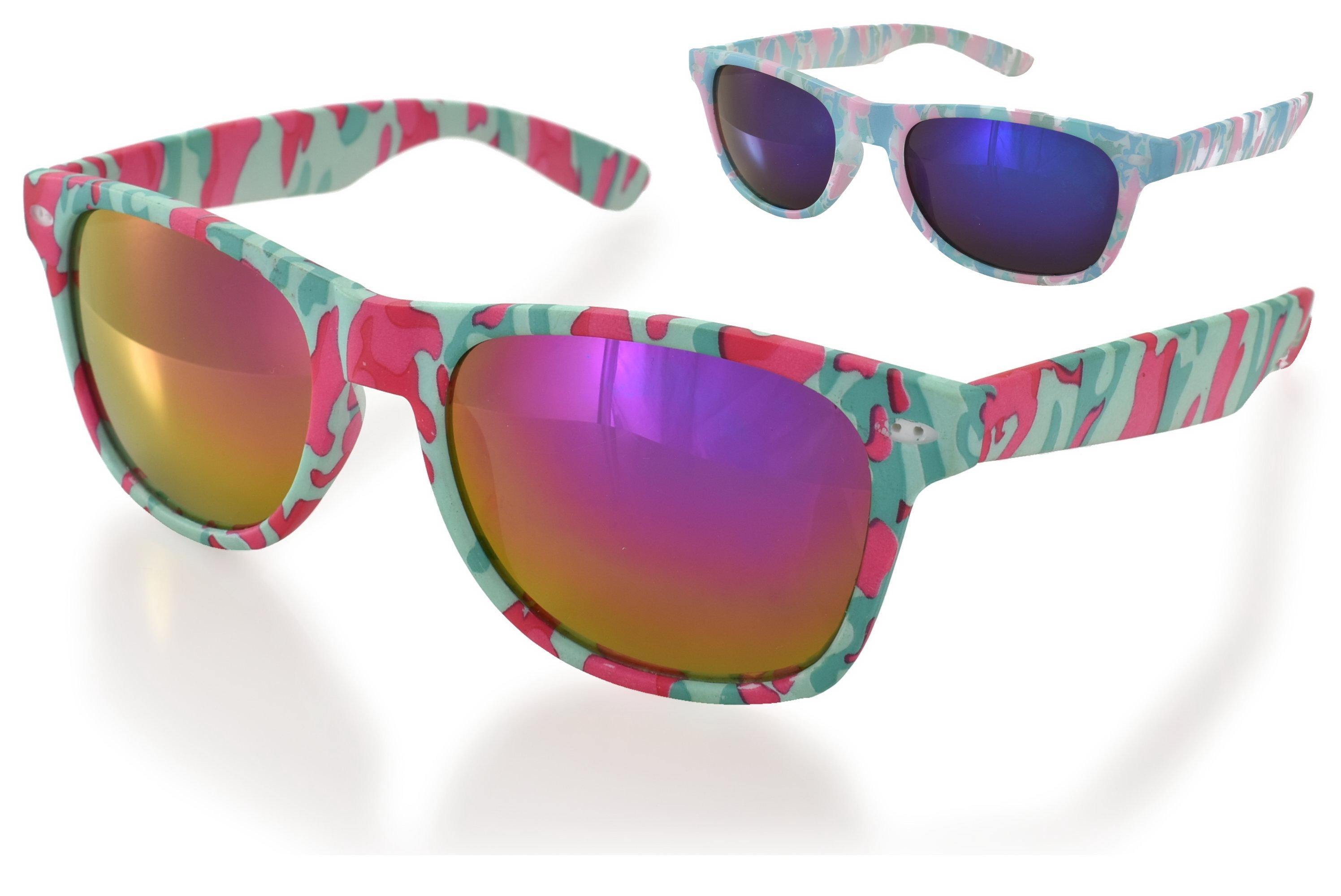 Ladies Plastic Design Sunglasses - 2 Assorted