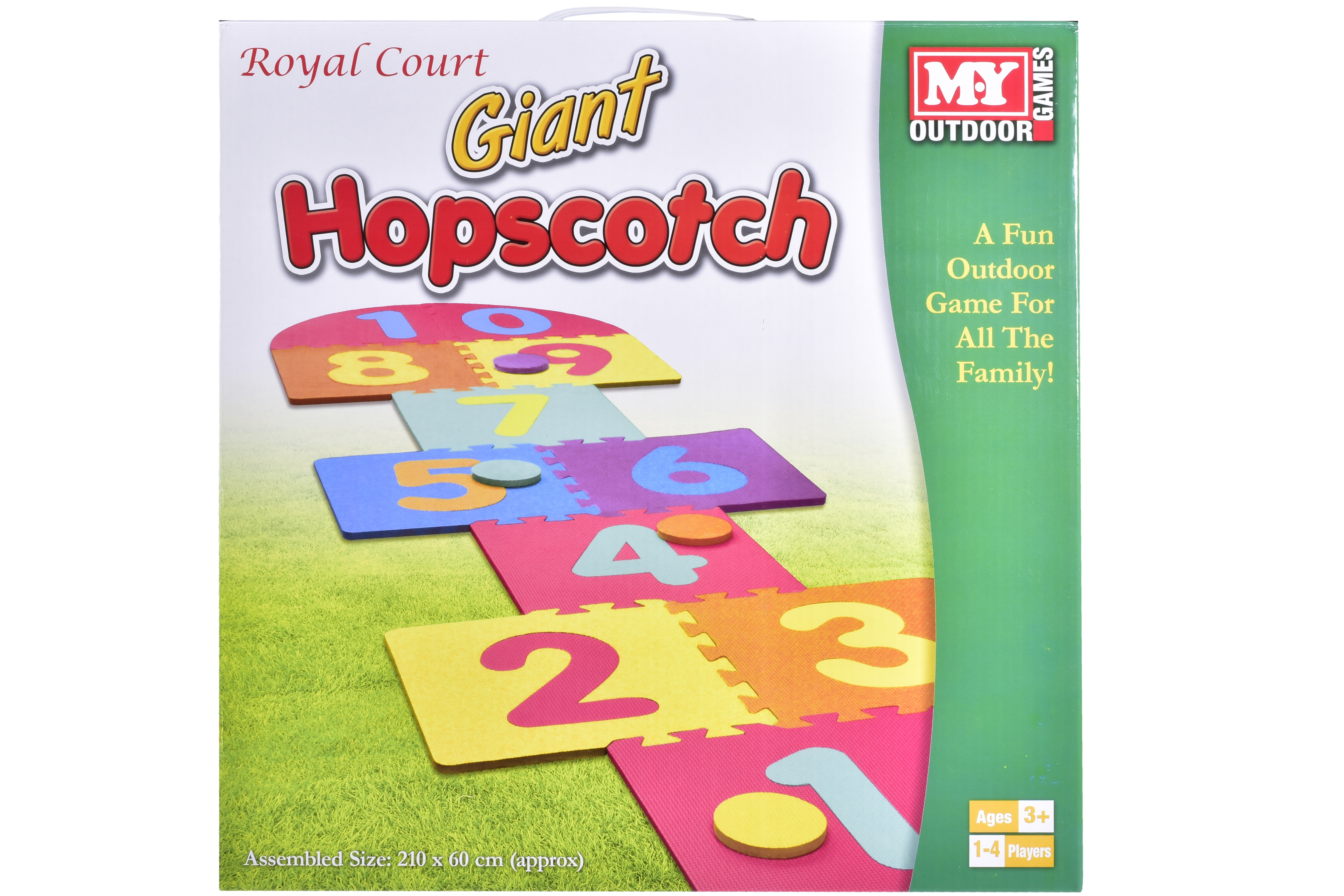 "Giant Hopscotch Game In Colour Box ""M.Y"""
