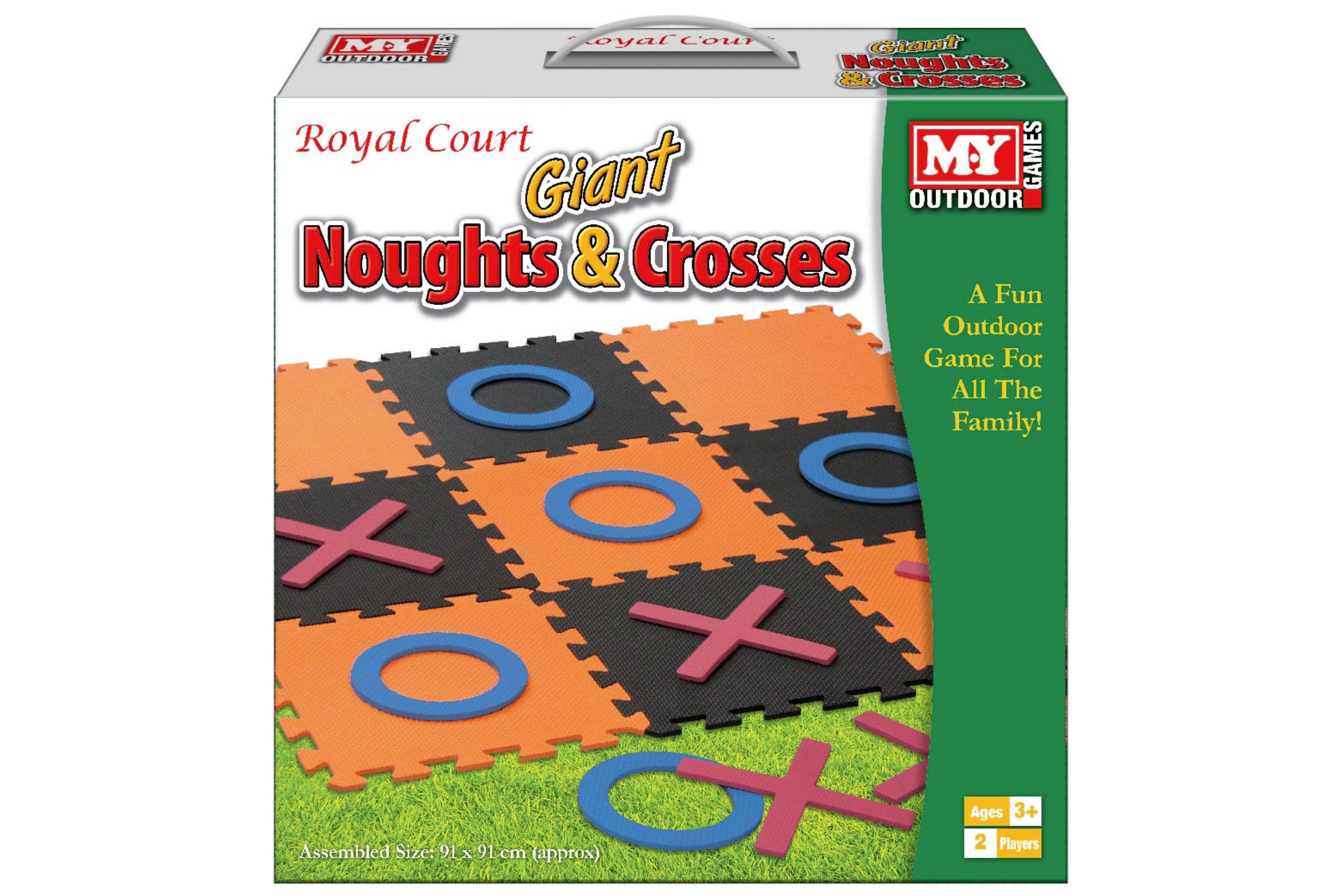 "Giant Eva Noughts & Crosses Game In Colour Box ""M.Y"""