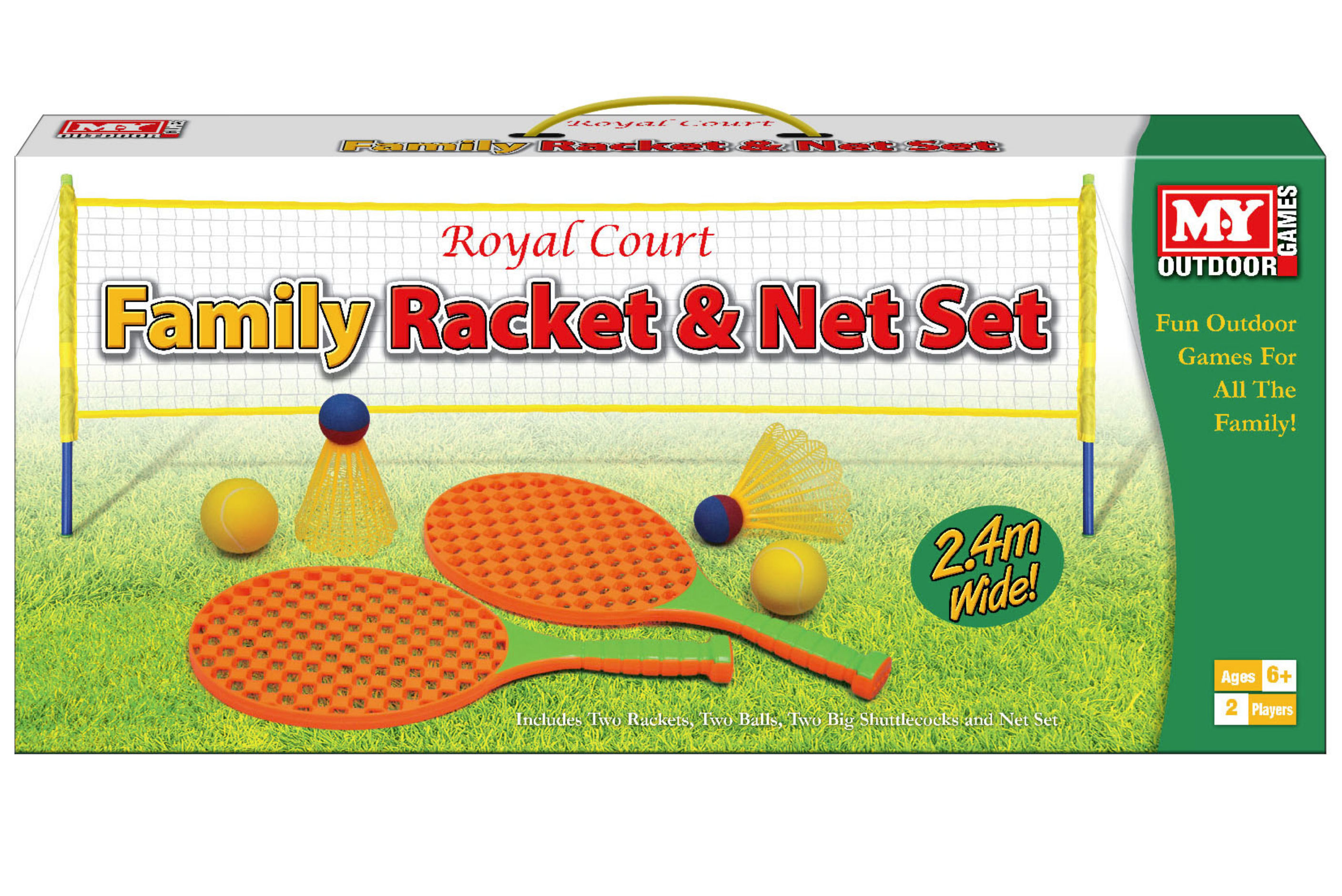 "Family Tennis Set Game In Colour Box ""M.Y"""