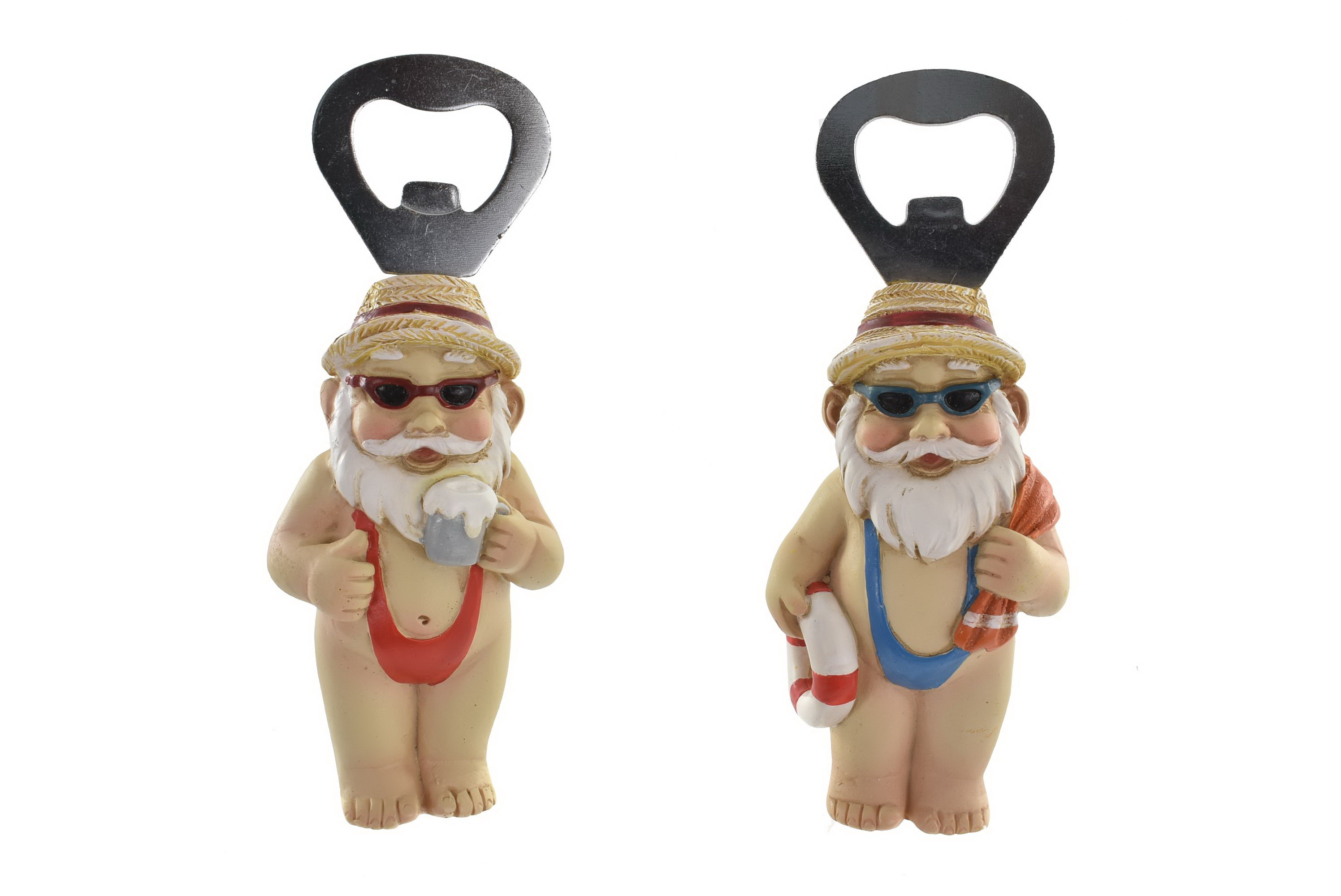 Beach Gnome Bottle Opener 2 Assorted