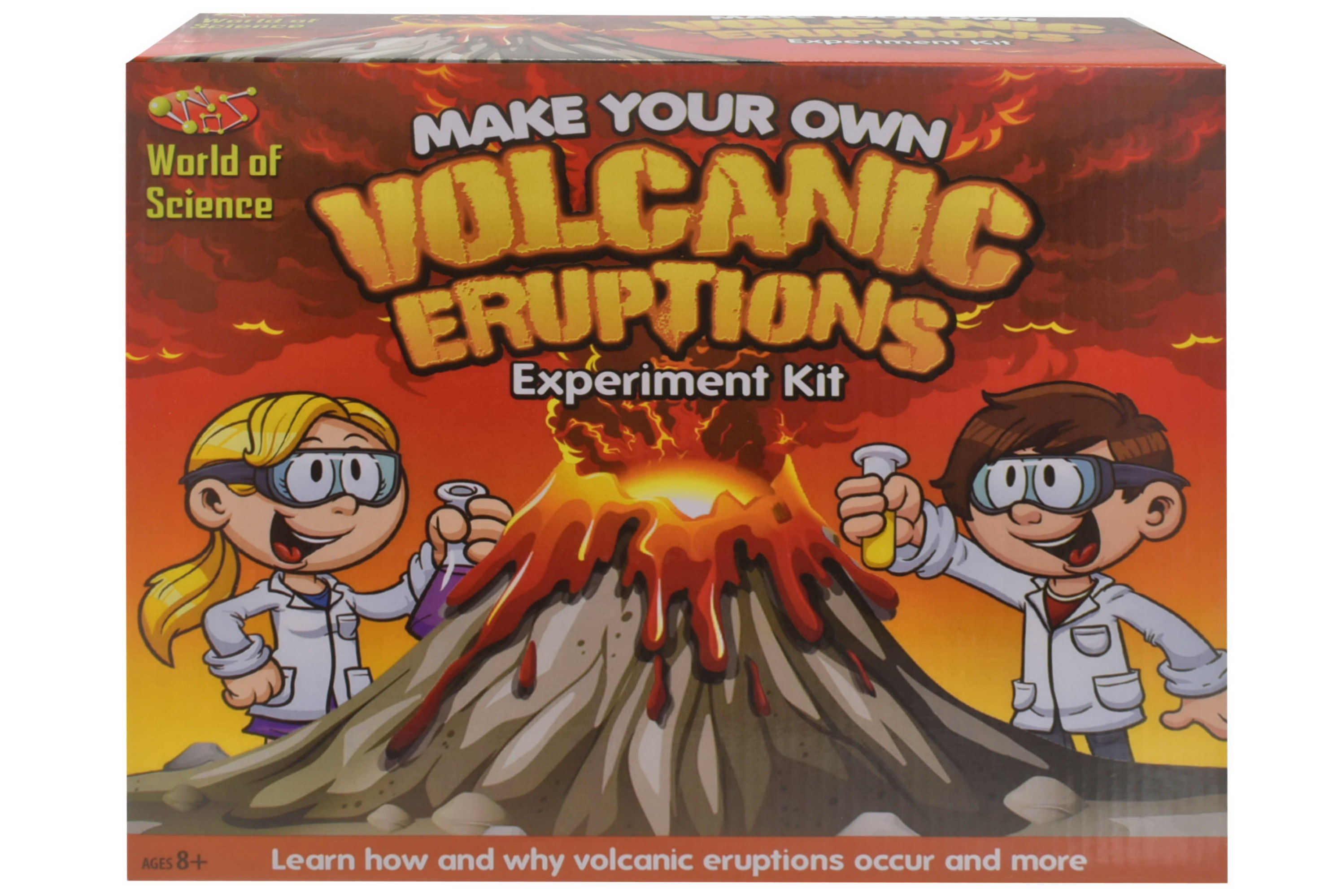 Make Your Own Volcanic Eruptions Experiment Kit