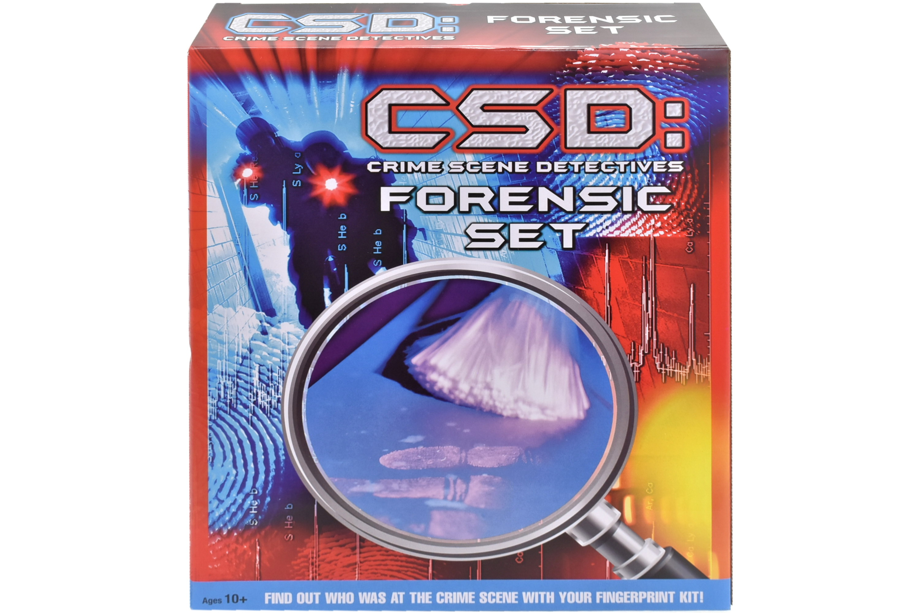 Detective Forensic Set In Colour Box