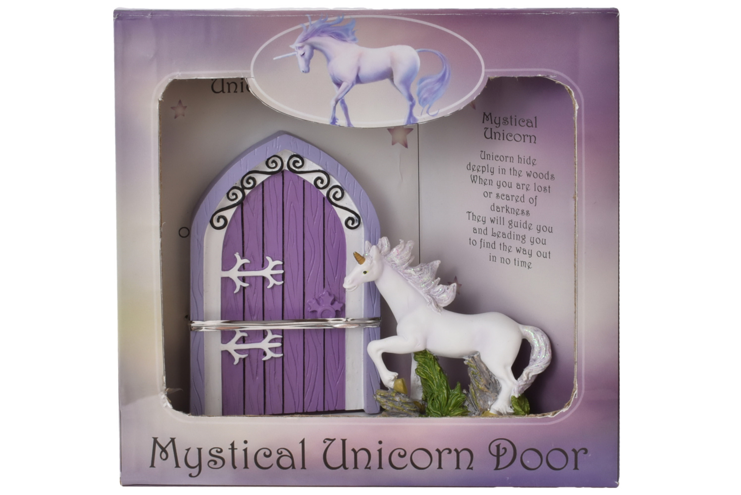 Unicorn Door In Window Gift Box