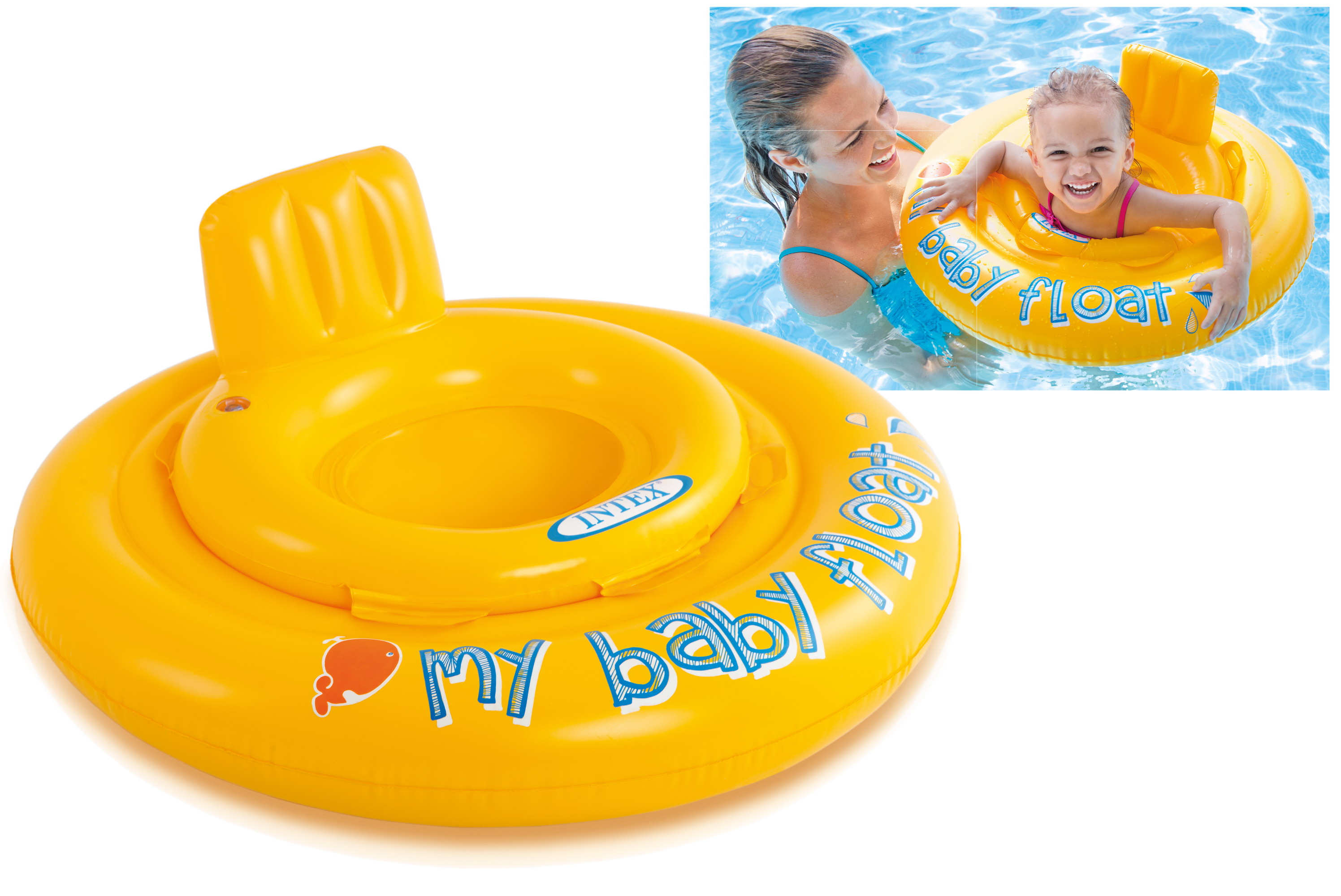 "27.5"" My Baby Float (Ages 6-12mths) In Peg Box"
