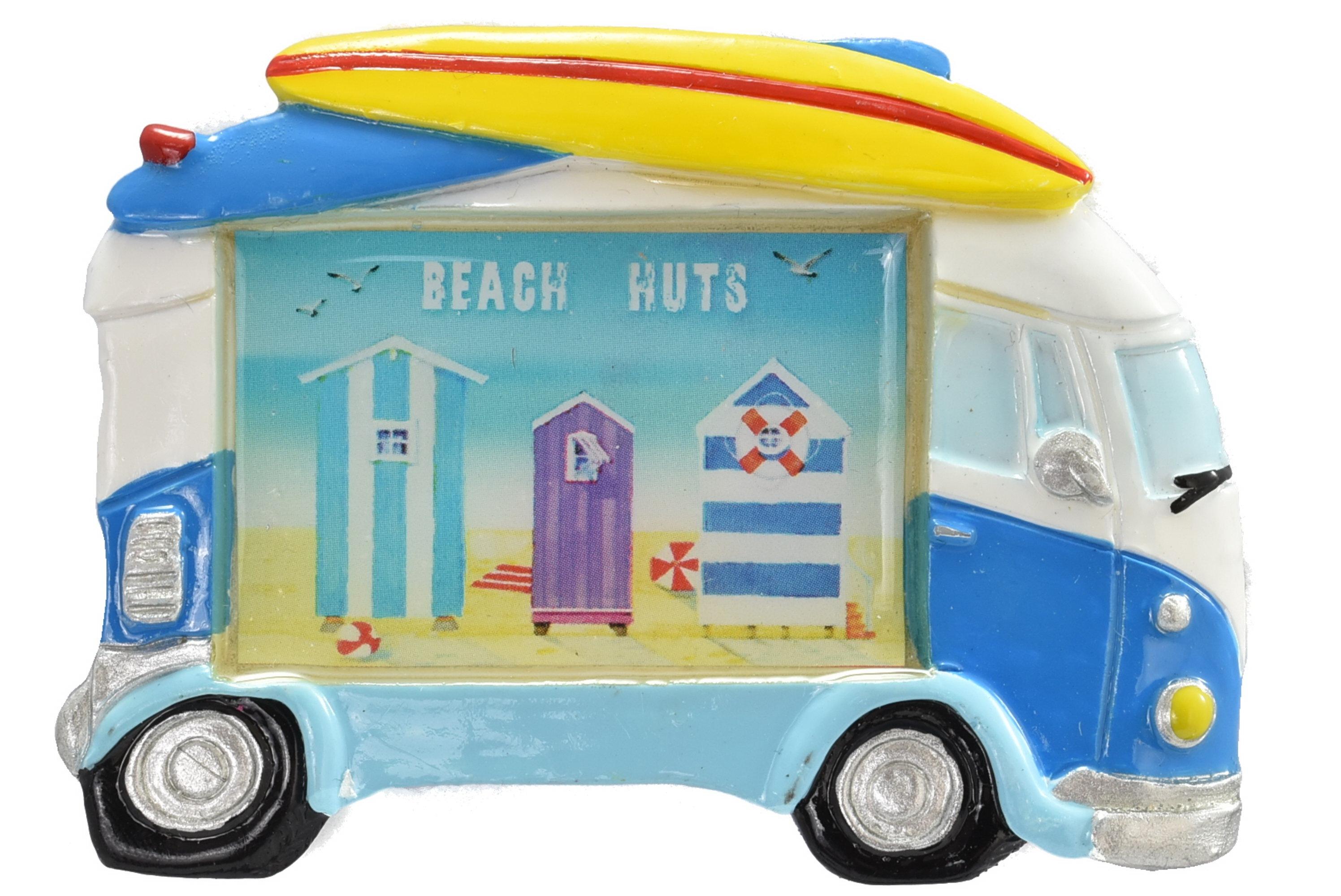 Surfbus Magnet Beach Hut Design