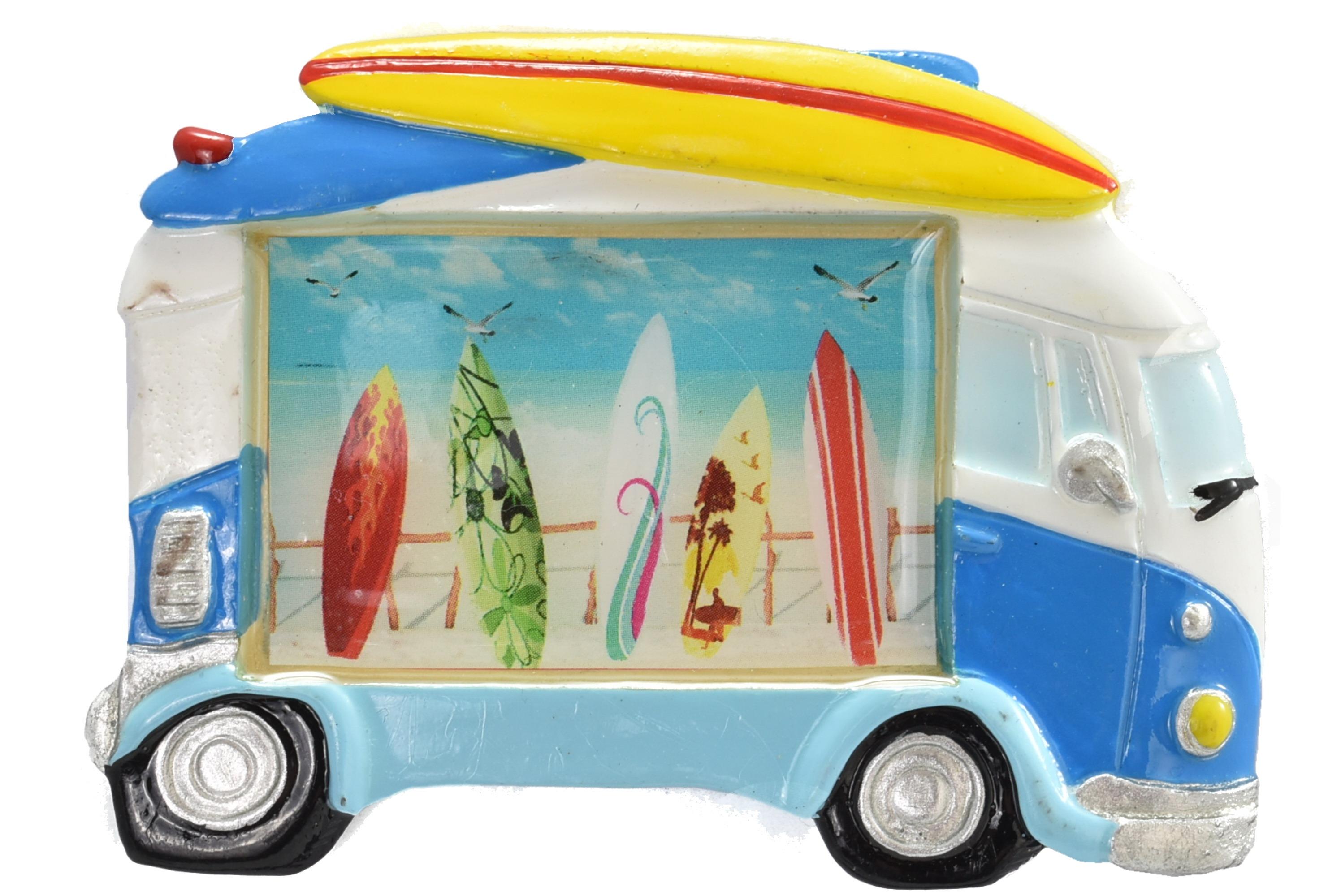 Surfbus Magnet Surfboard Design