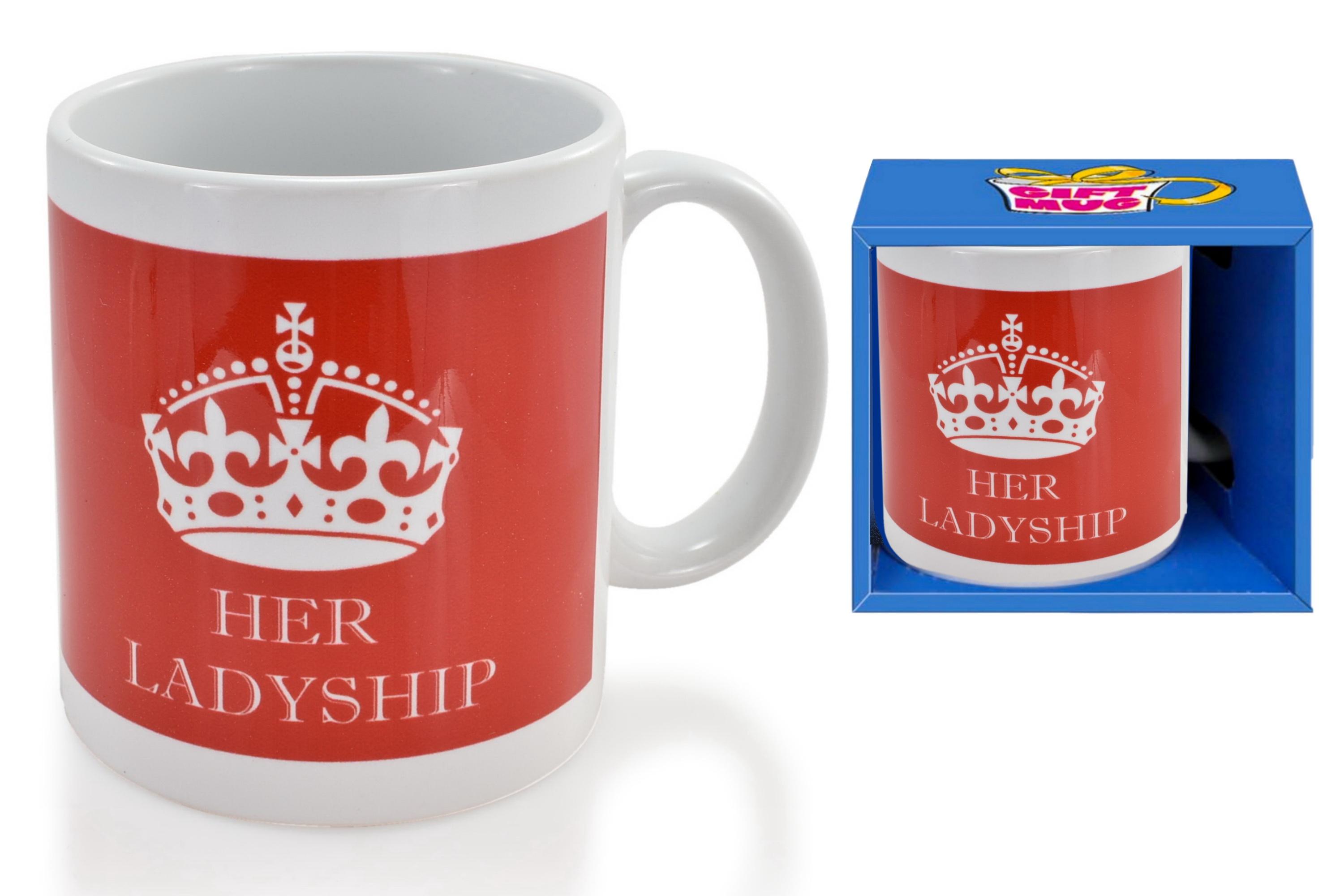 Her Ladyship Mug In Gift Box