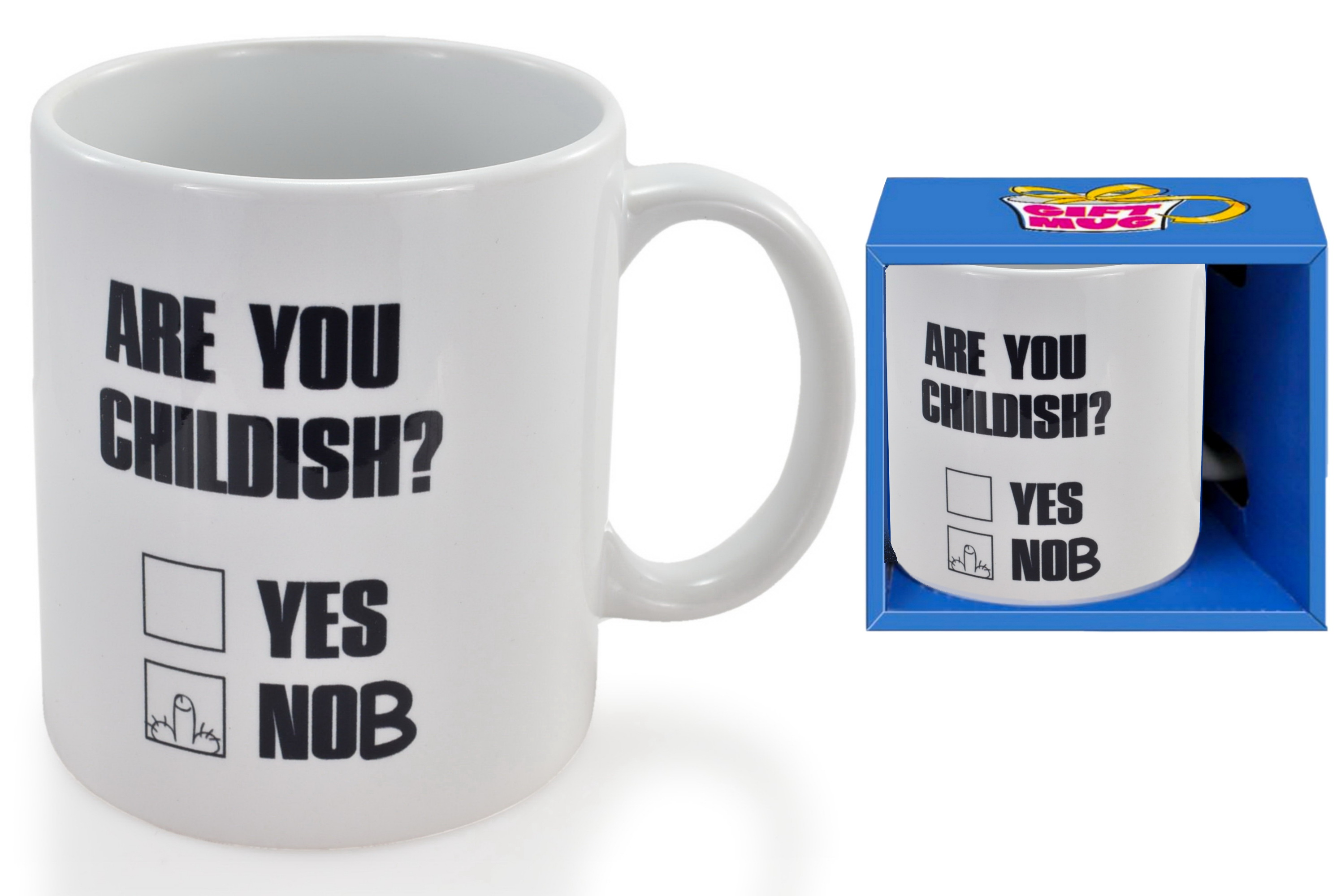 Childish Mug In Gift Box