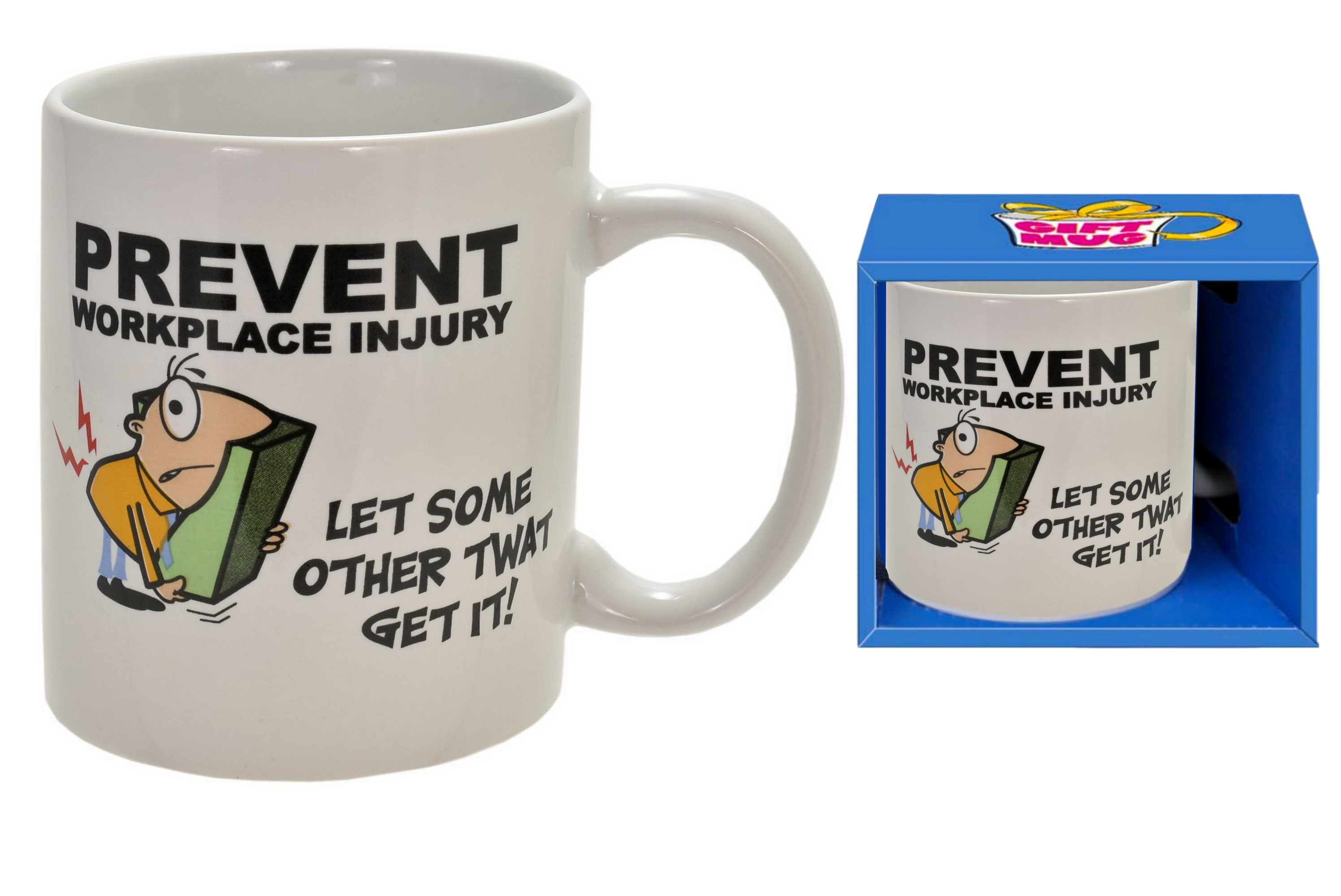 Prevent Workplace Injury Mug In Gift Box