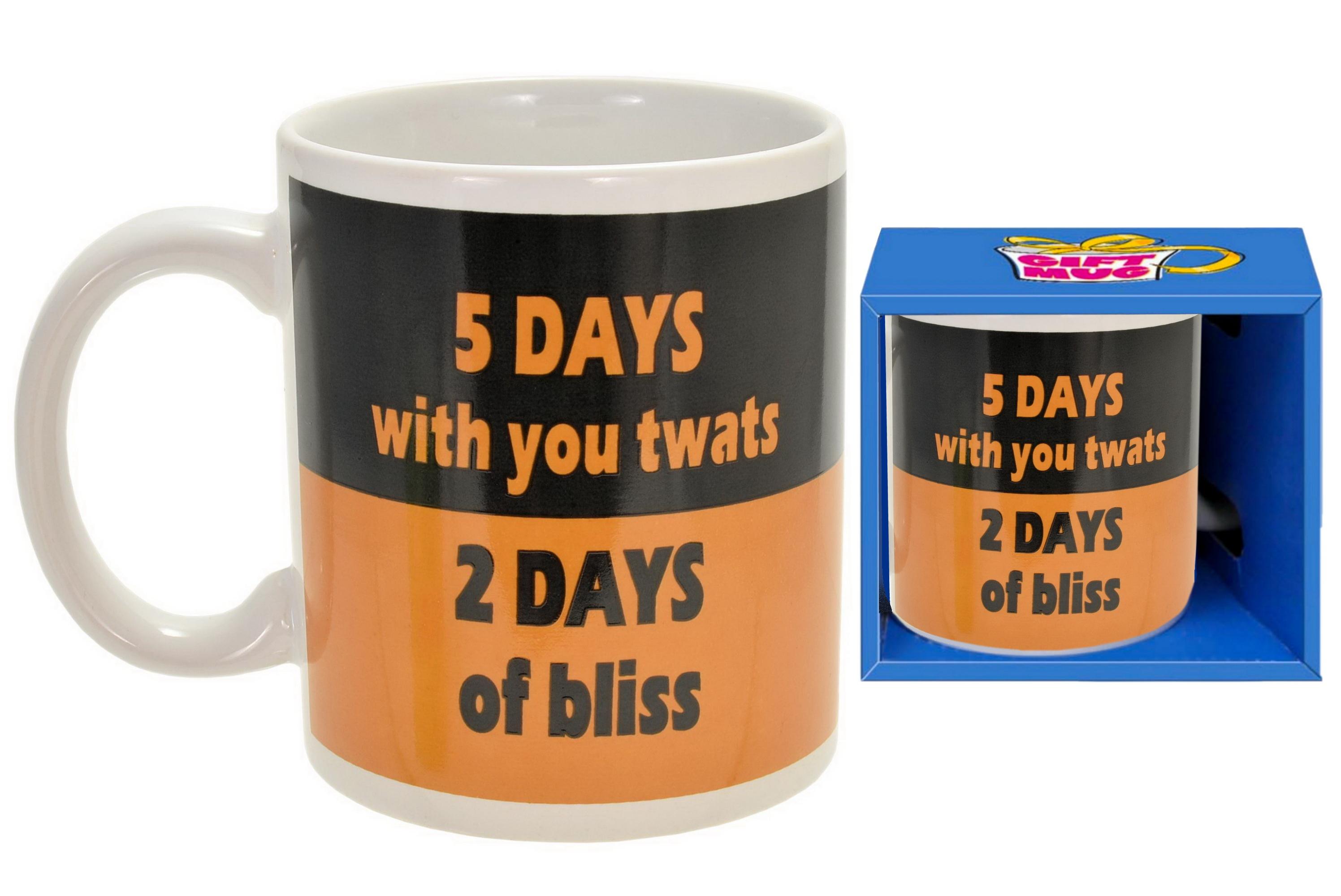 5 Days Mug In Gift Box