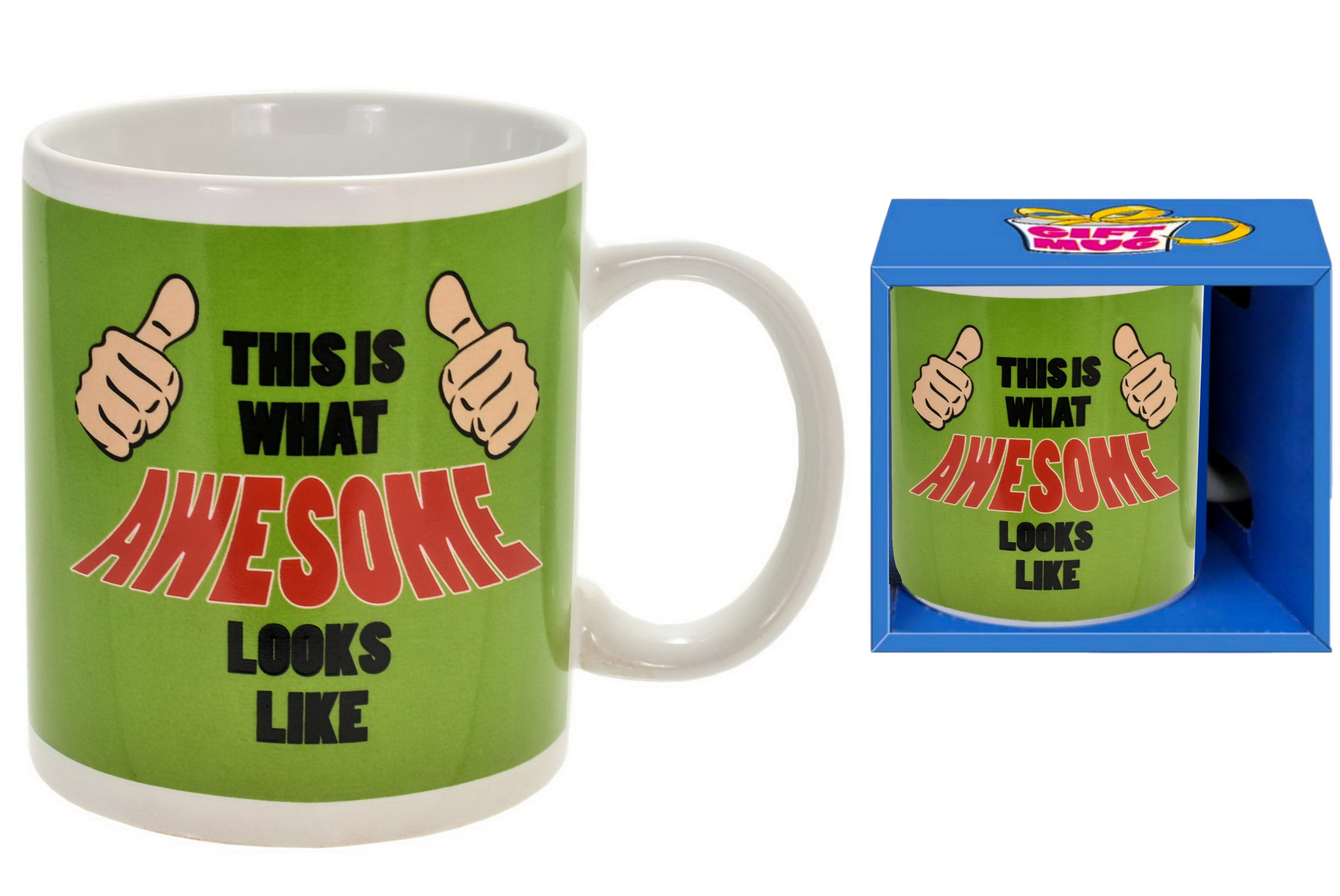 Awesome Mug In Gift Box