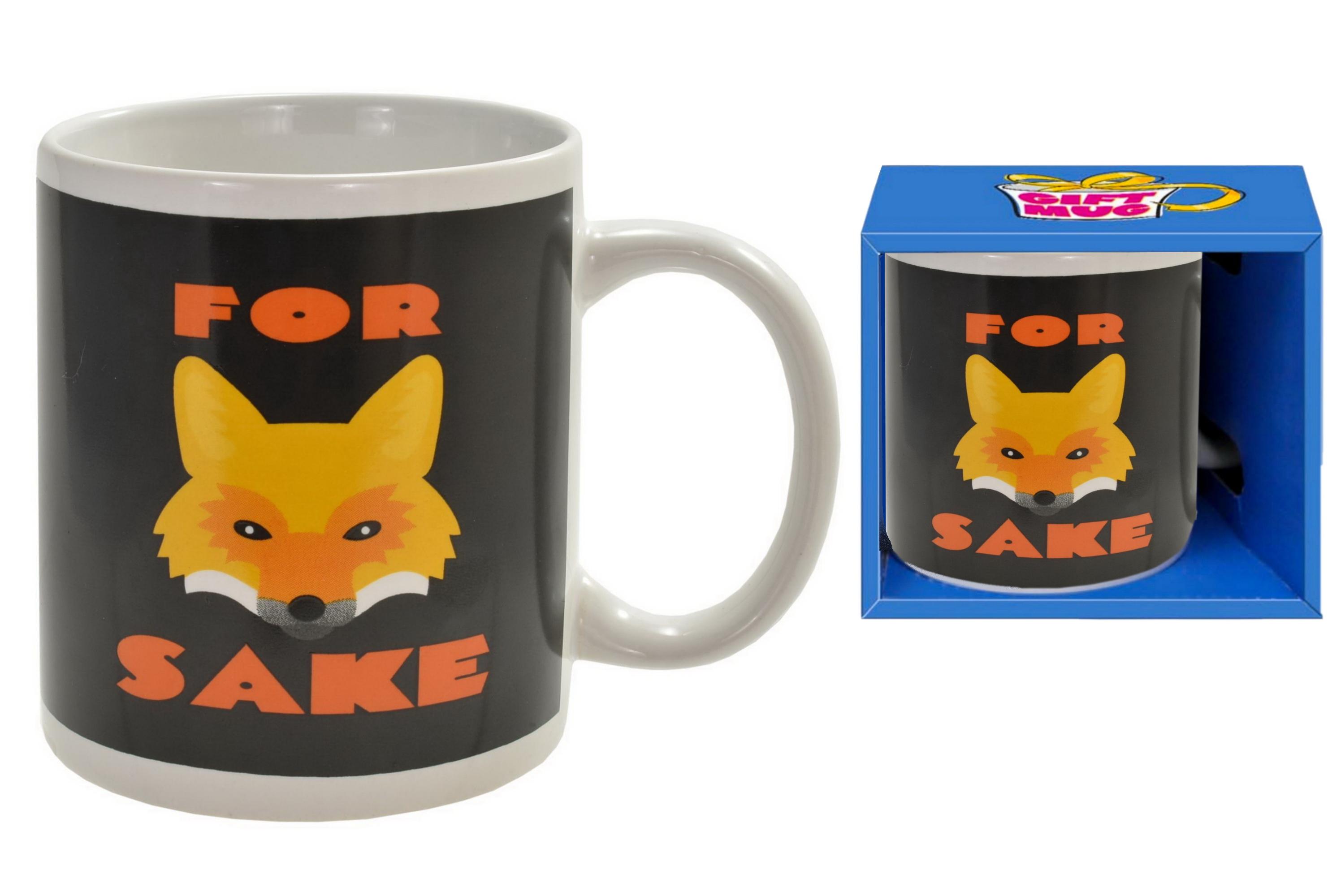 Fox Sake Mug In Gift Box