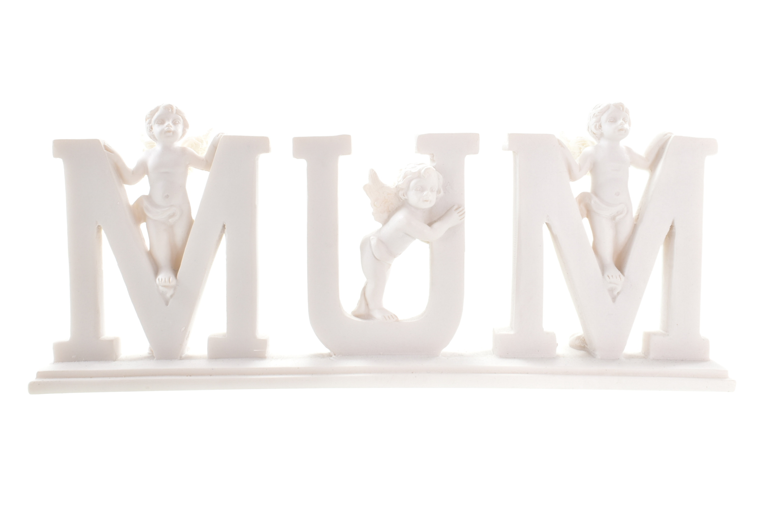 Angels With Mum Plaque