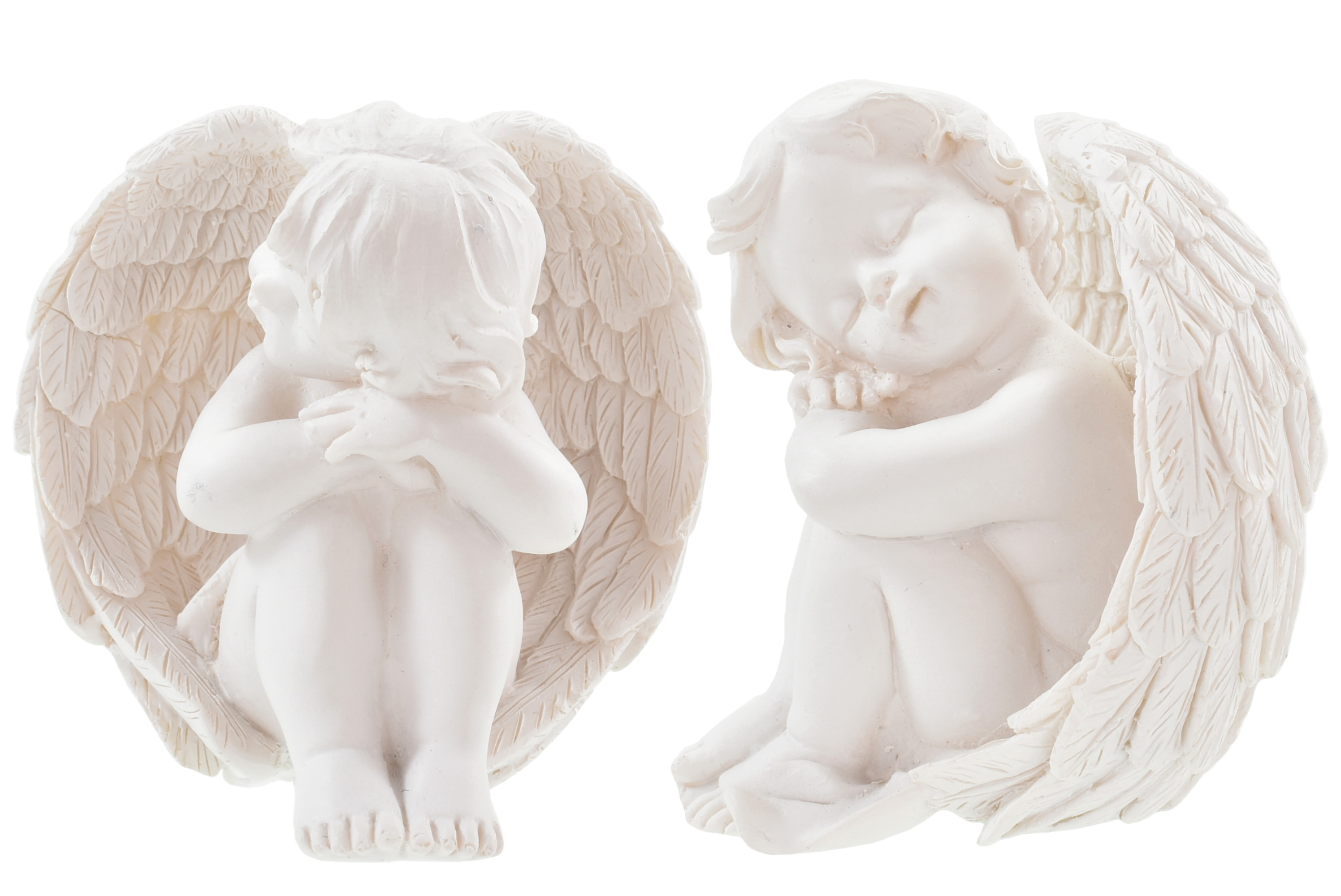 8cm Angel Sitting 2 Assorted