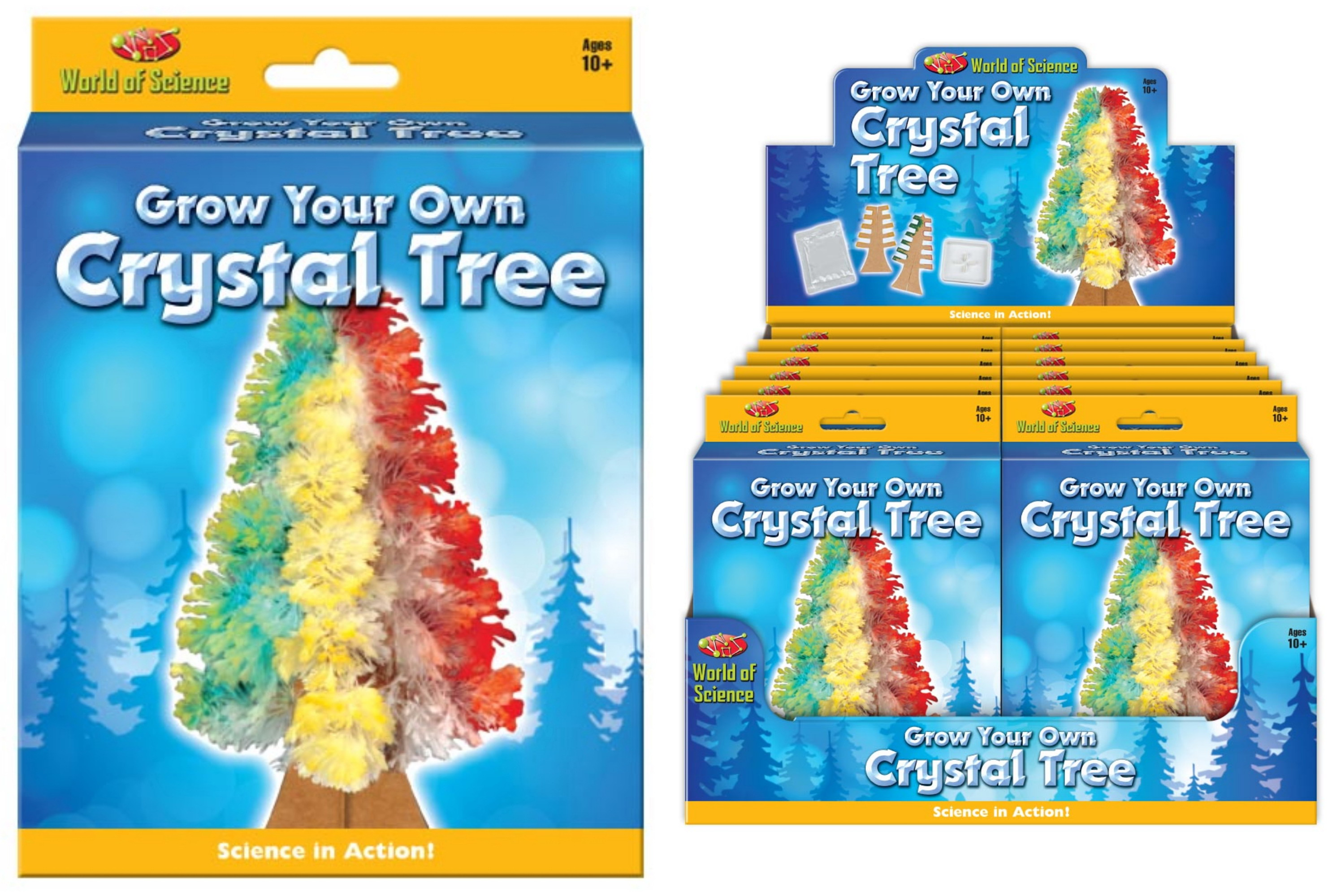 Grow Your Own Crystal Tree Playset - Hanging Box & D/Bx