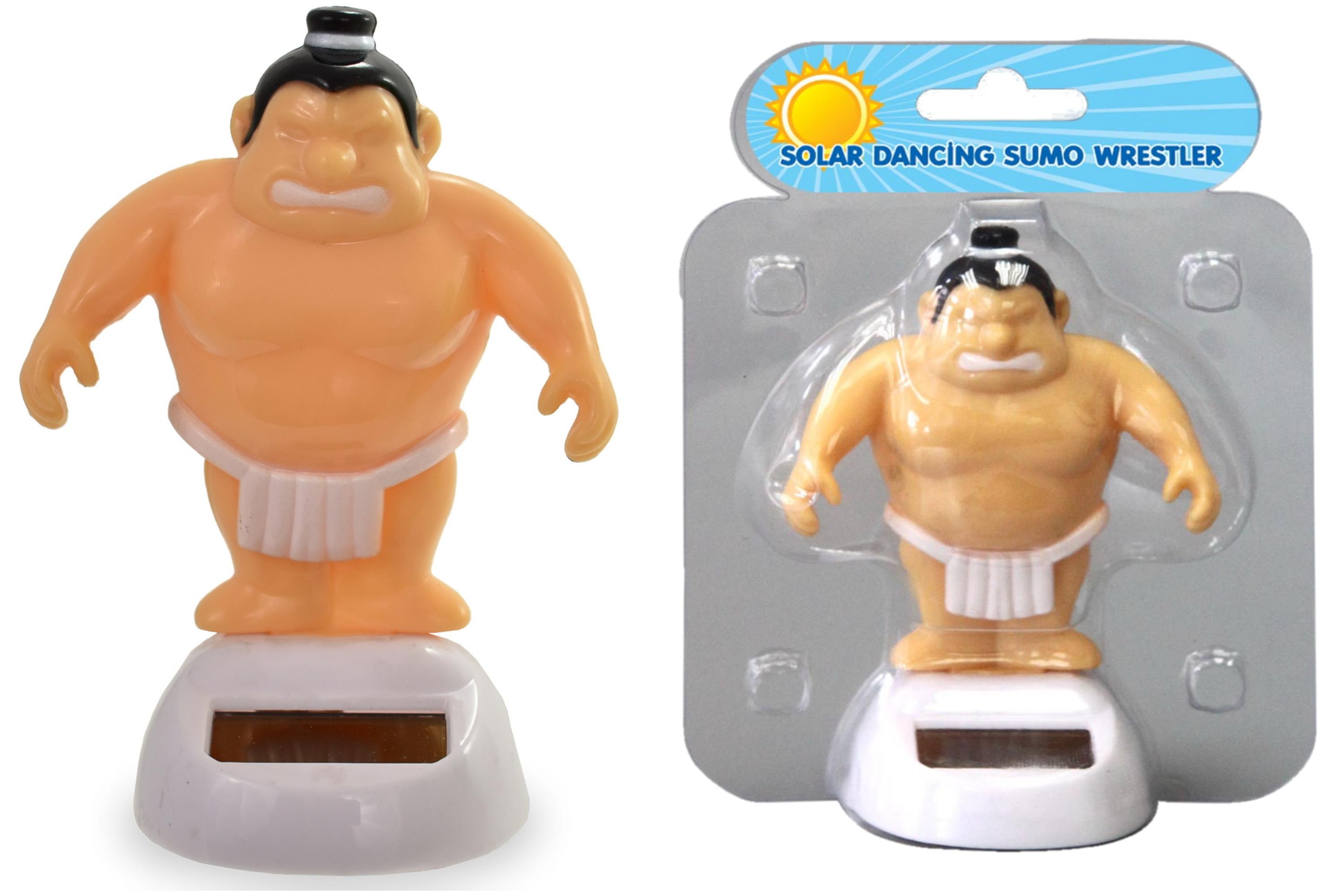 Solar Dancing Sumo Wrestler In Clamshell