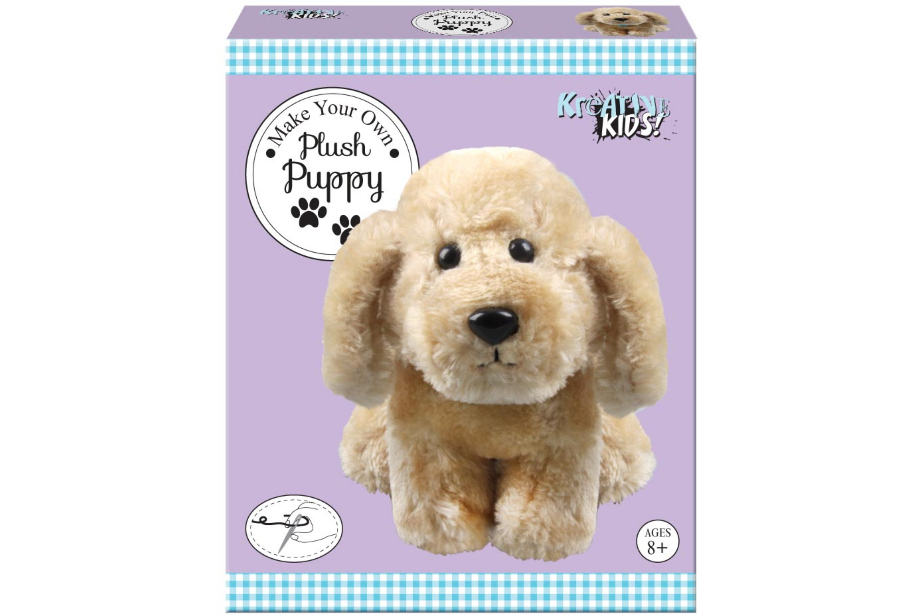 Make Your Own Plush Puppy In Colour Box