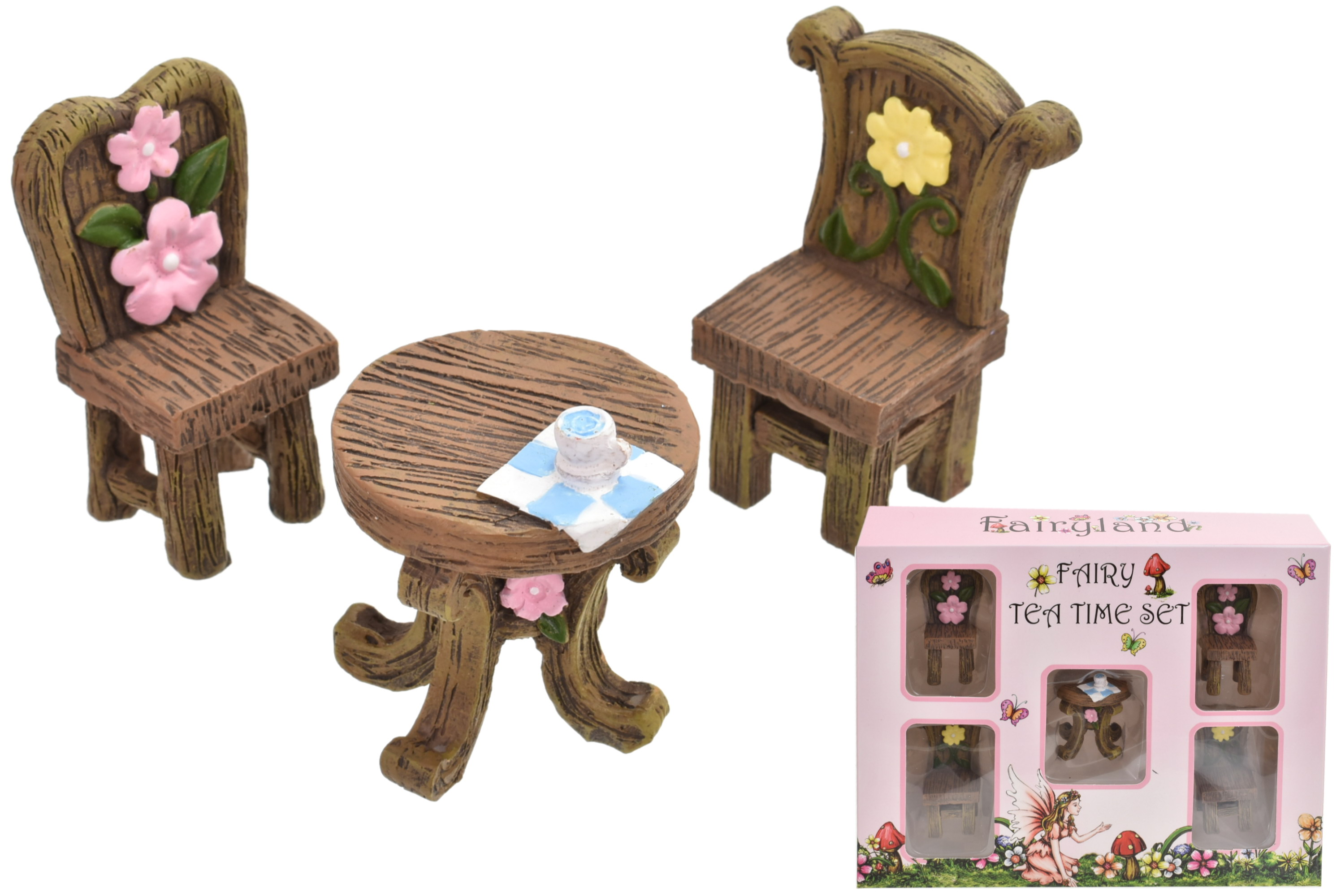 Fairyland Fairy Furniture Set 5pcs In Window Box