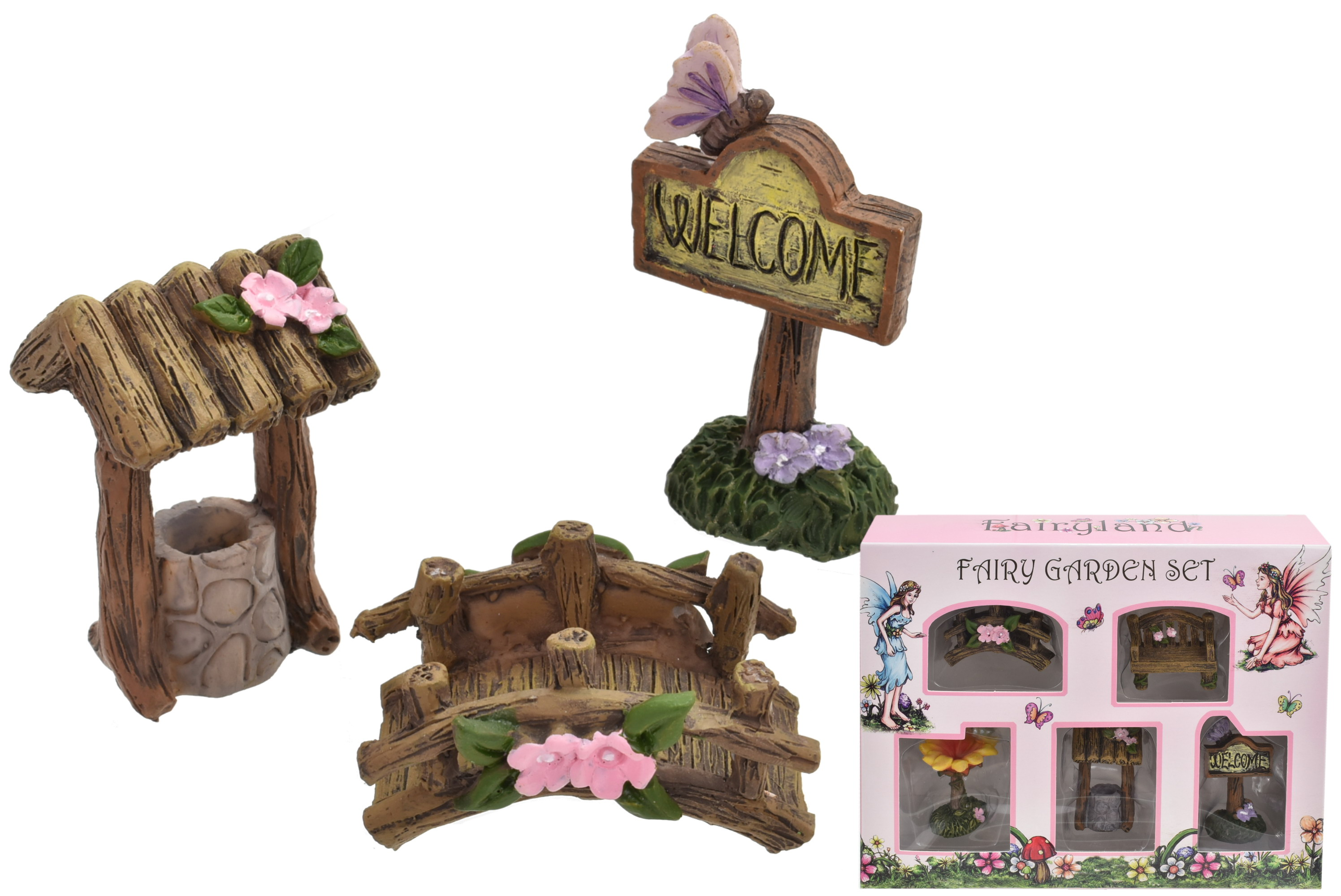 Fairyland Fairy Accessories Set 5pcs In Window Box