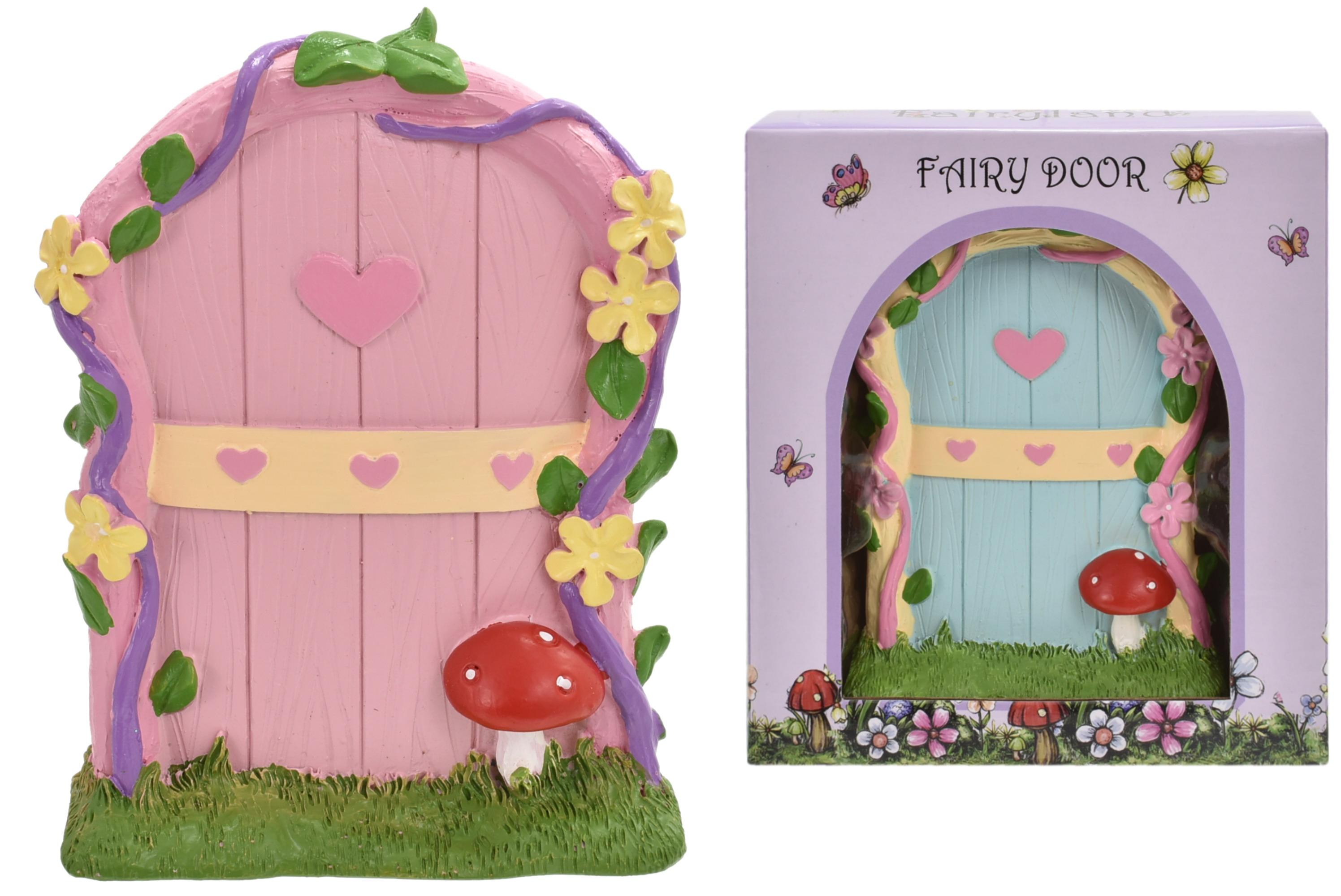 Fairyland Fairy Door With Mushroom
